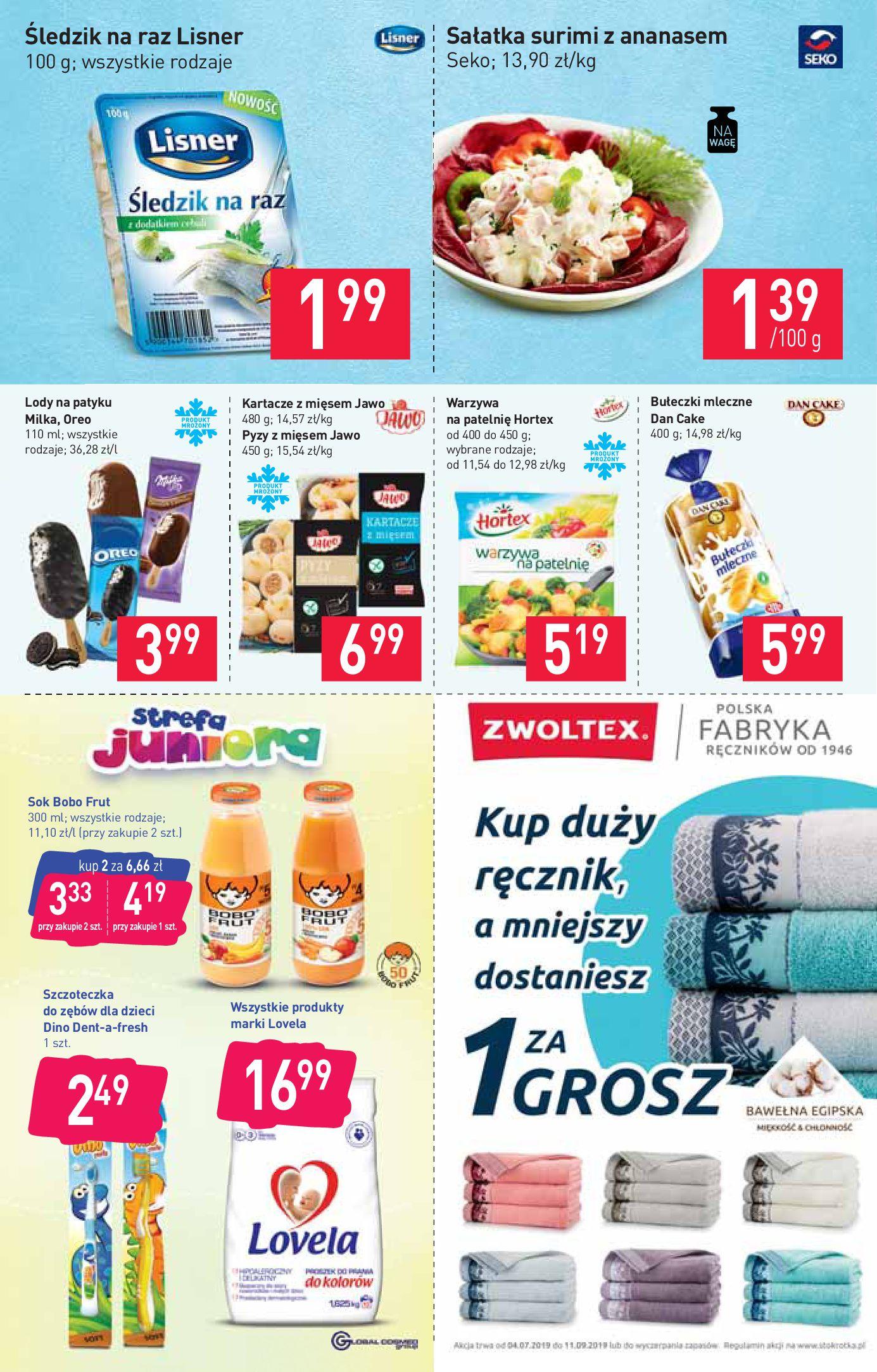Gazetka Stokrotka Market - Gazetka market-13.08.2019-21.08.2019-page-4
