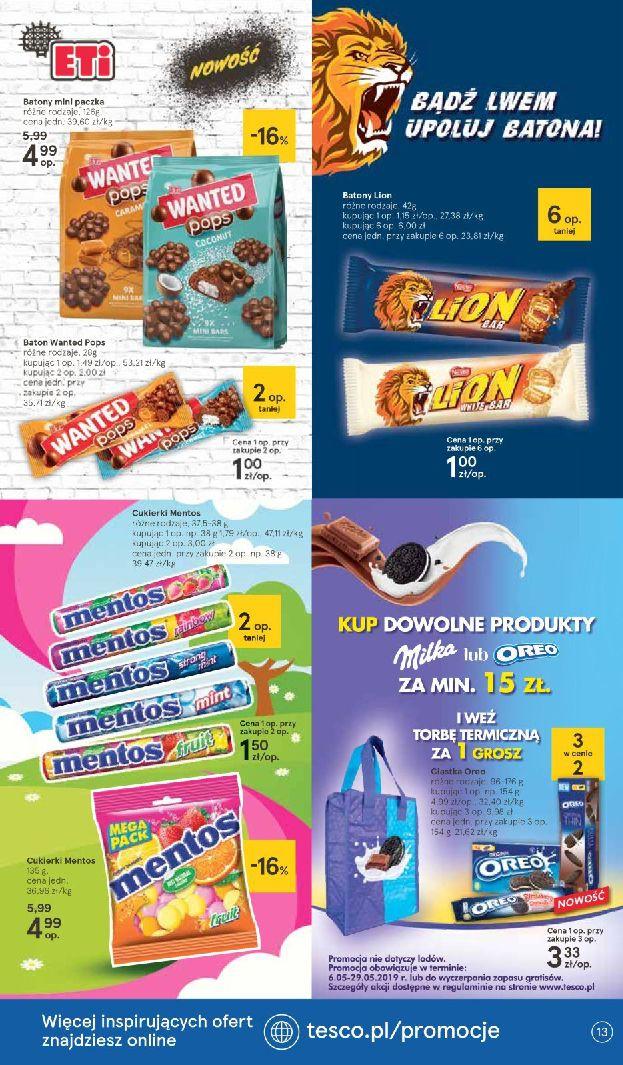 Gazetka Tesco - Oferta na art. spożywcze i kosmetyki-15.05.2019-22.05.2019-page-
