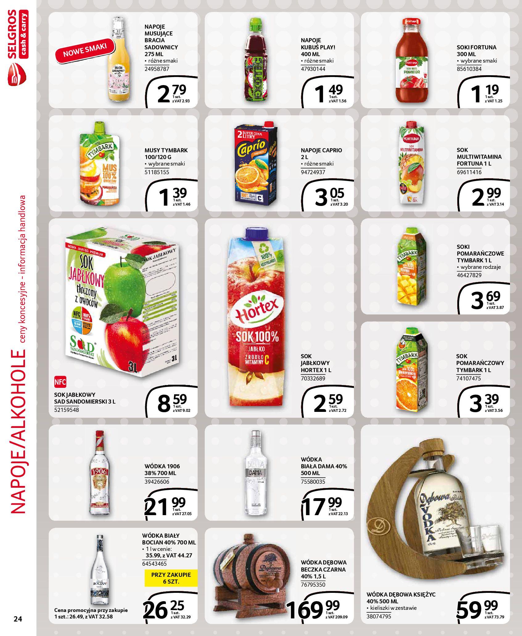 Gazetka Selgros: Gazetka Selgros - EXTRA Oferta 2021-07-22 page-24