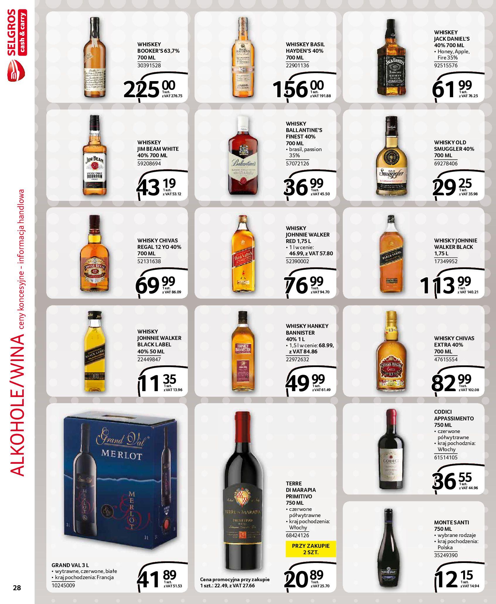 Gazetka Selgros: Gazetka Selgros - EXTRA Oferta 2021-07-22 page-28