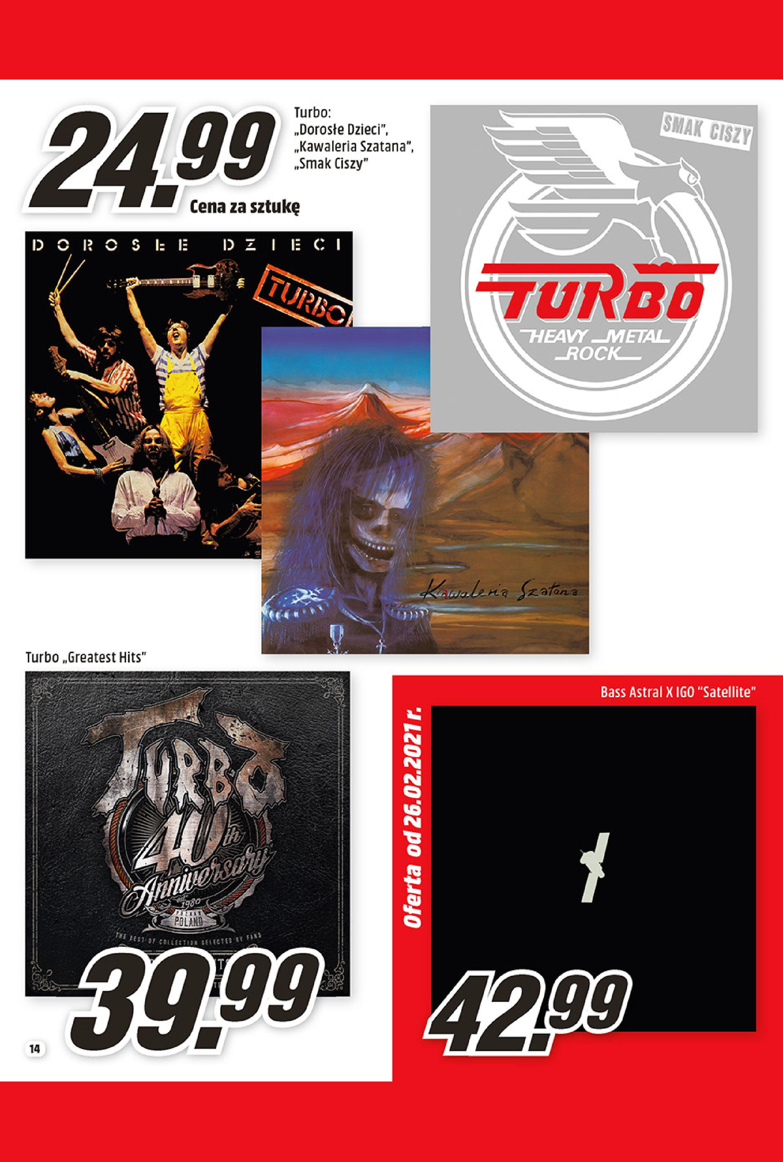 Gazetka Media Markt: Oferta handlowa 2021-02-01 page-14
