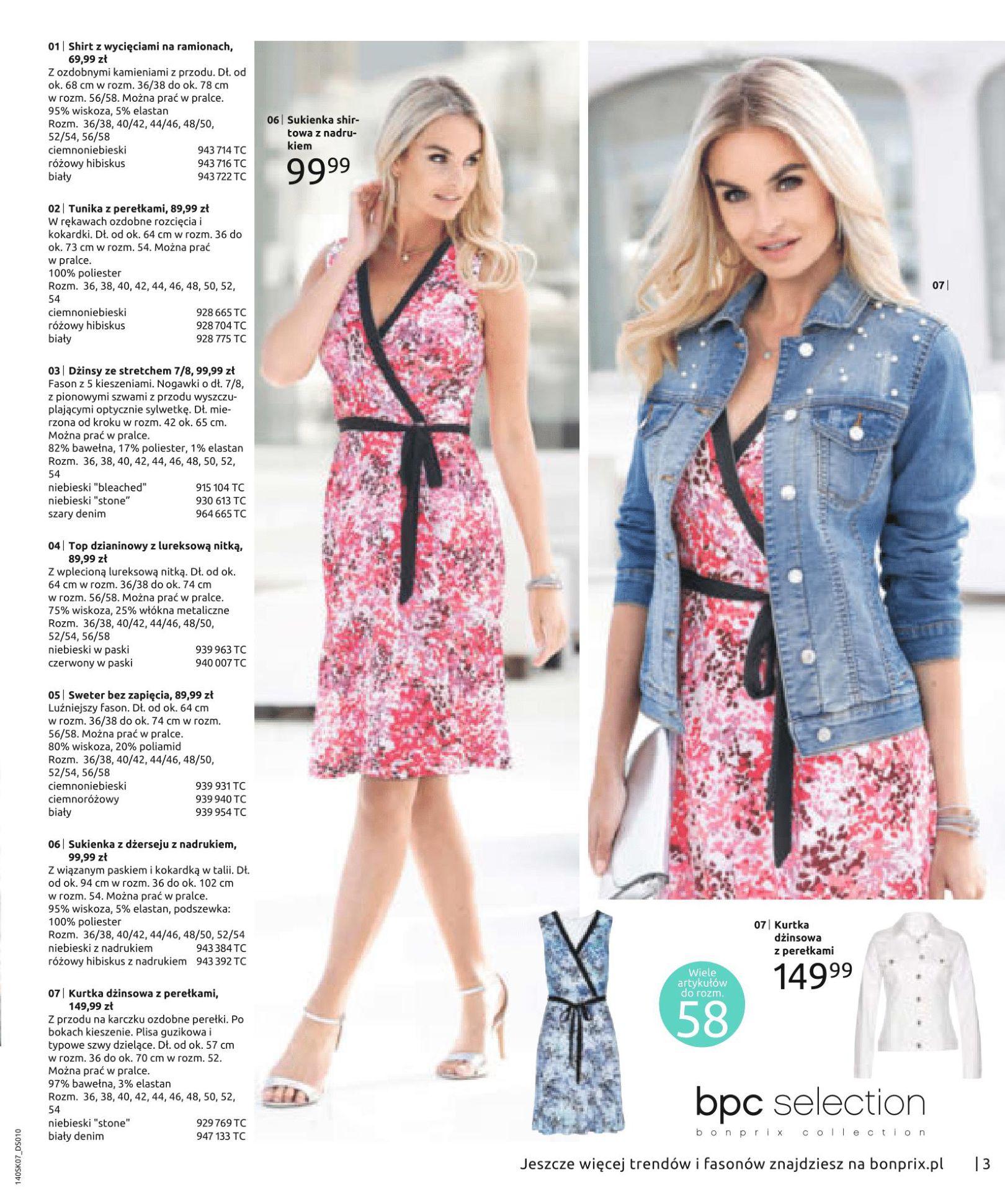 Gazetka Bonprix - Letnie trendy-02.07.2019-15.01.2020-page-5