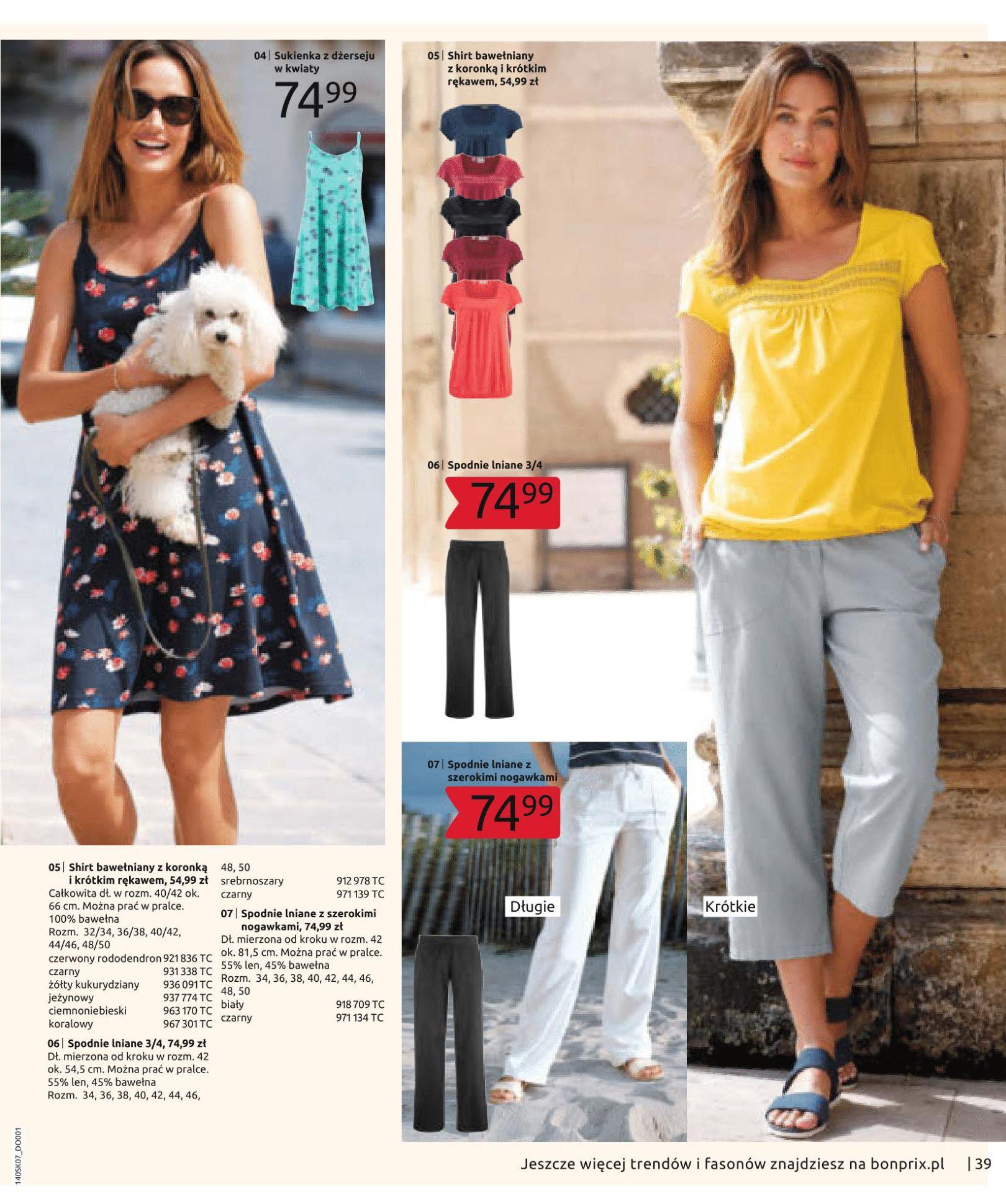 Gazetka Bonprix - Letnie trendy-02.07.2019-15.01.2020-page-41