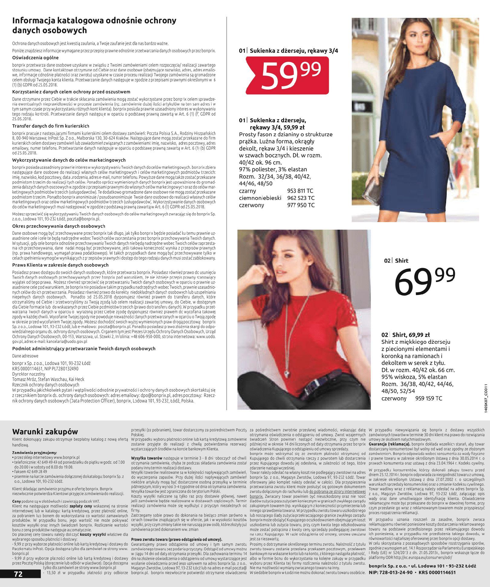 Gazetka Bonprix - Letnie trendy-02.07.2019-15.01.2020-page-74
