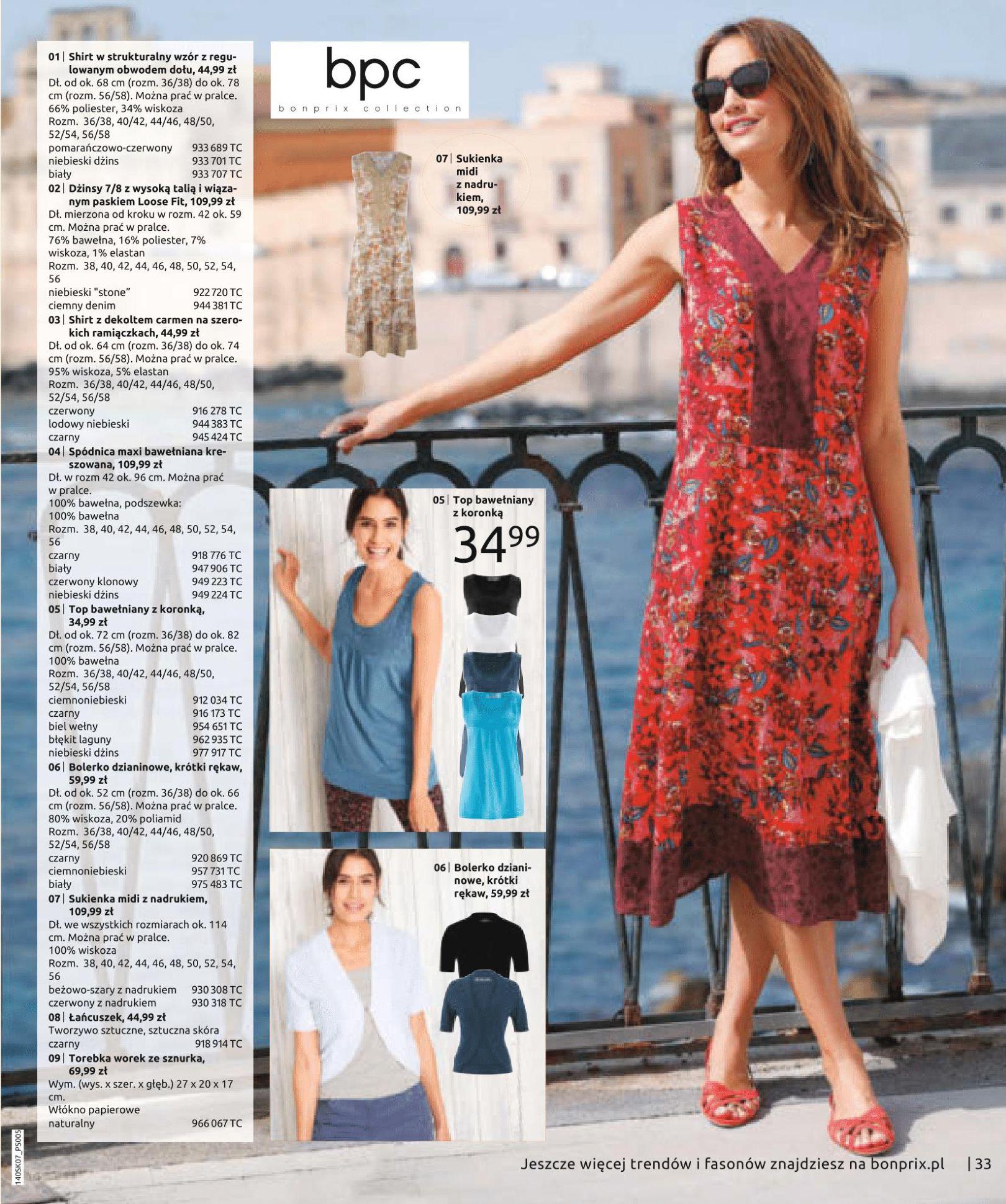 Gazetka Bonprix - Letnie trendy-02.07.2019-15.01.2020-page-35