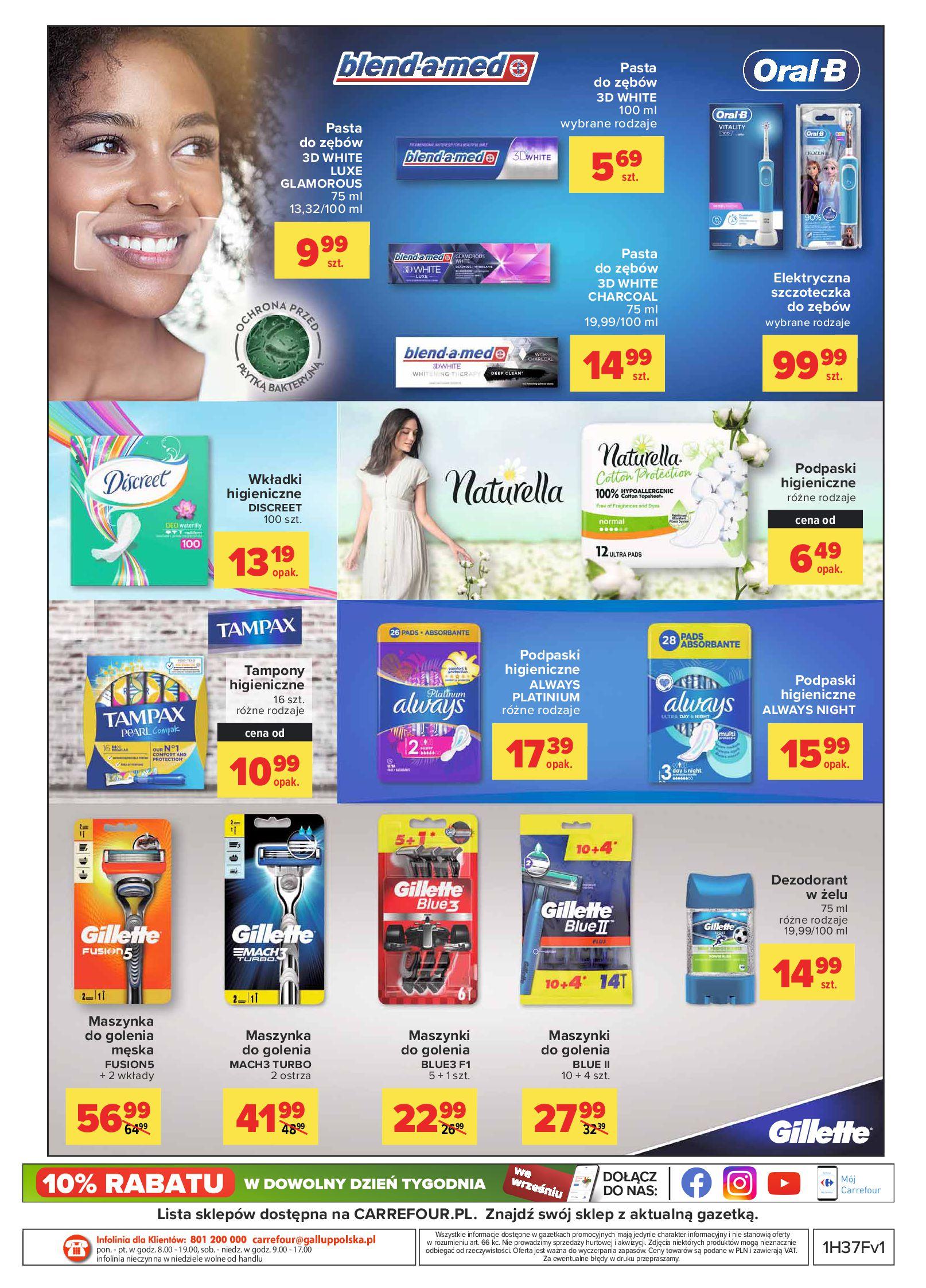 Gazetka Carrefour: Gazetka Carrefour - Proste równanie na oszczędzanie 2021-09-14 page-4
