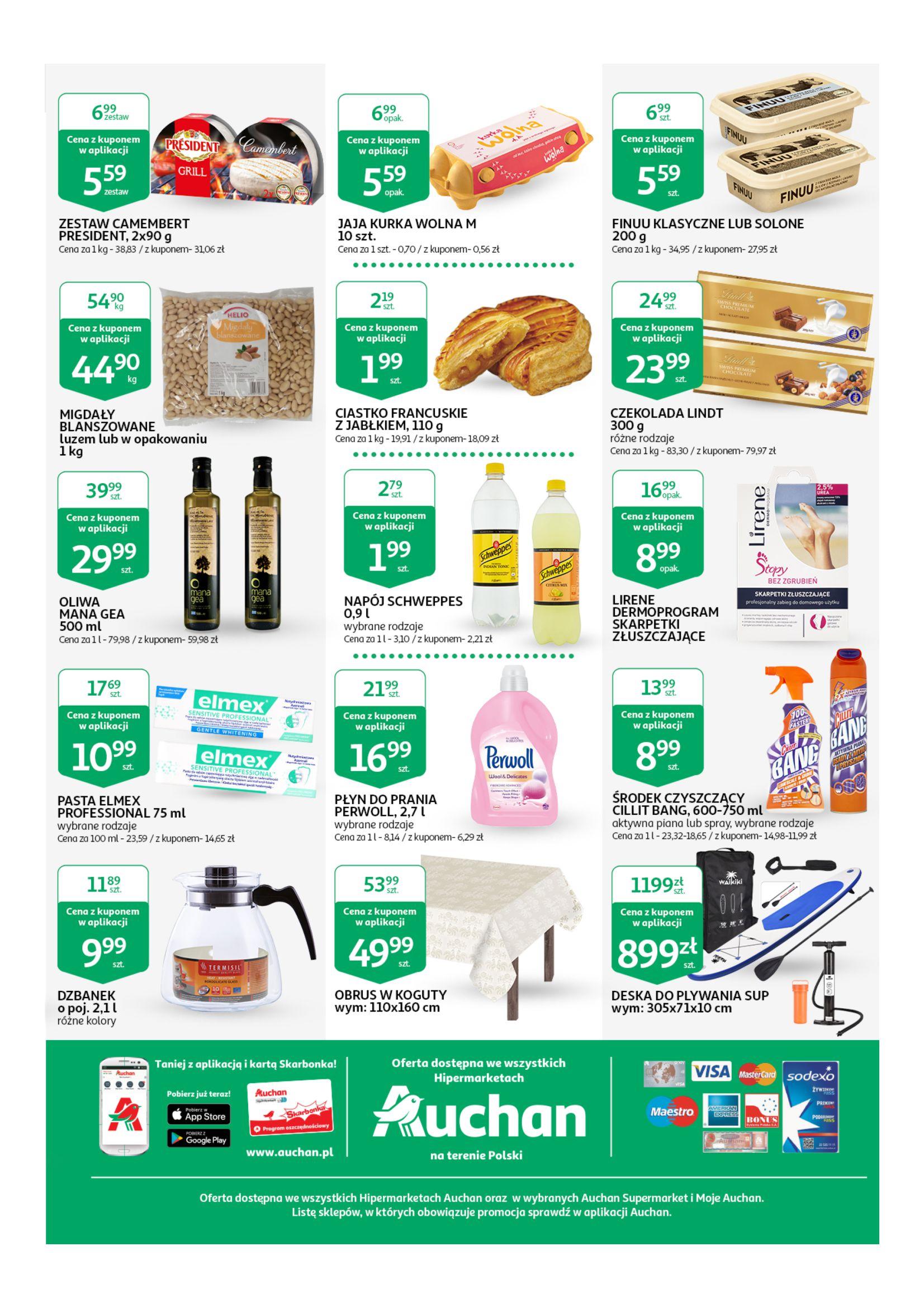 Gazetka Auchan - Taniej z aplikacją Hipermarkety-16.04.2019-25.04.2019-page-