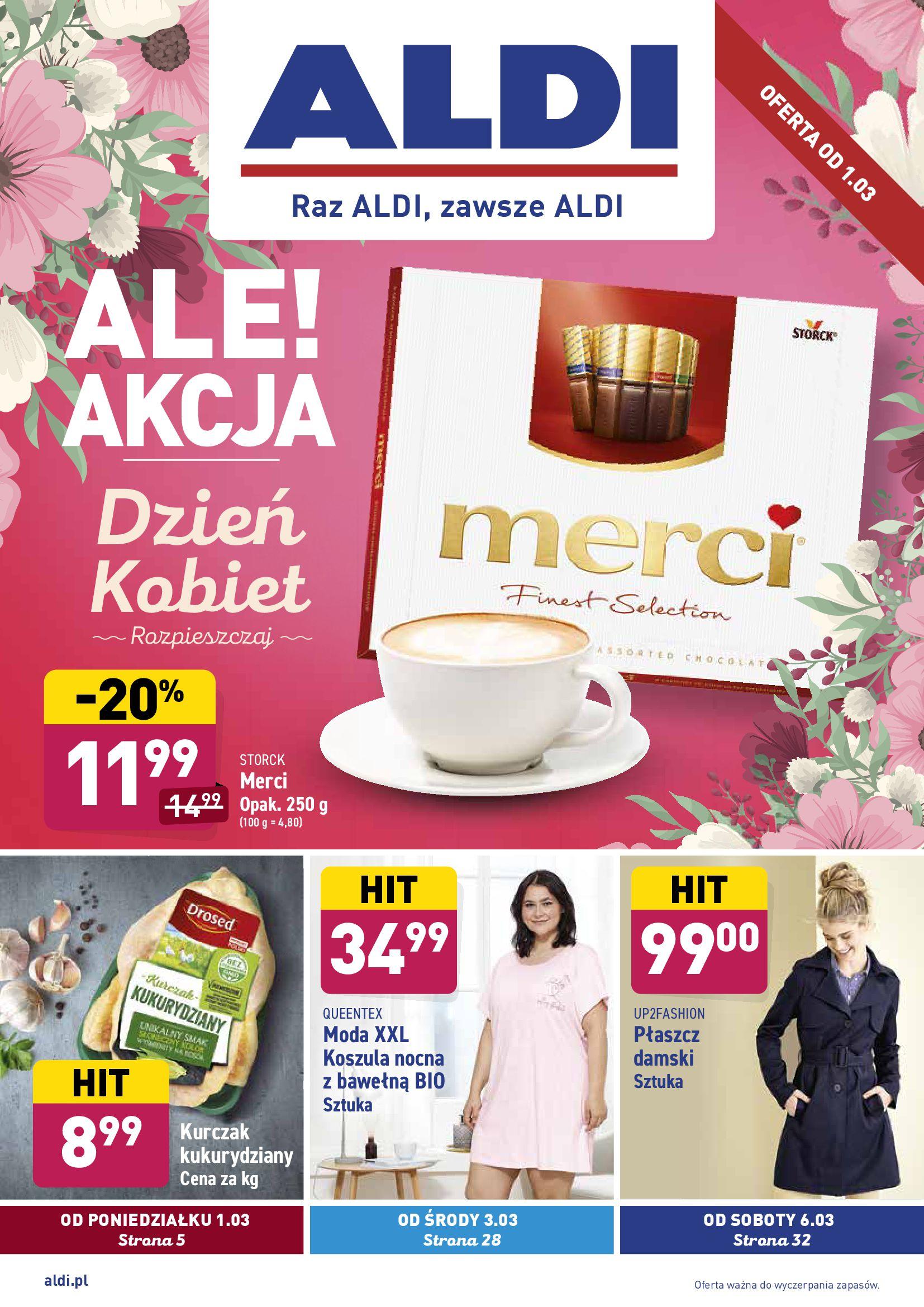Gazetka Aldi: Gazetka promocyjna od 01.03 2021-03-01 page-1
