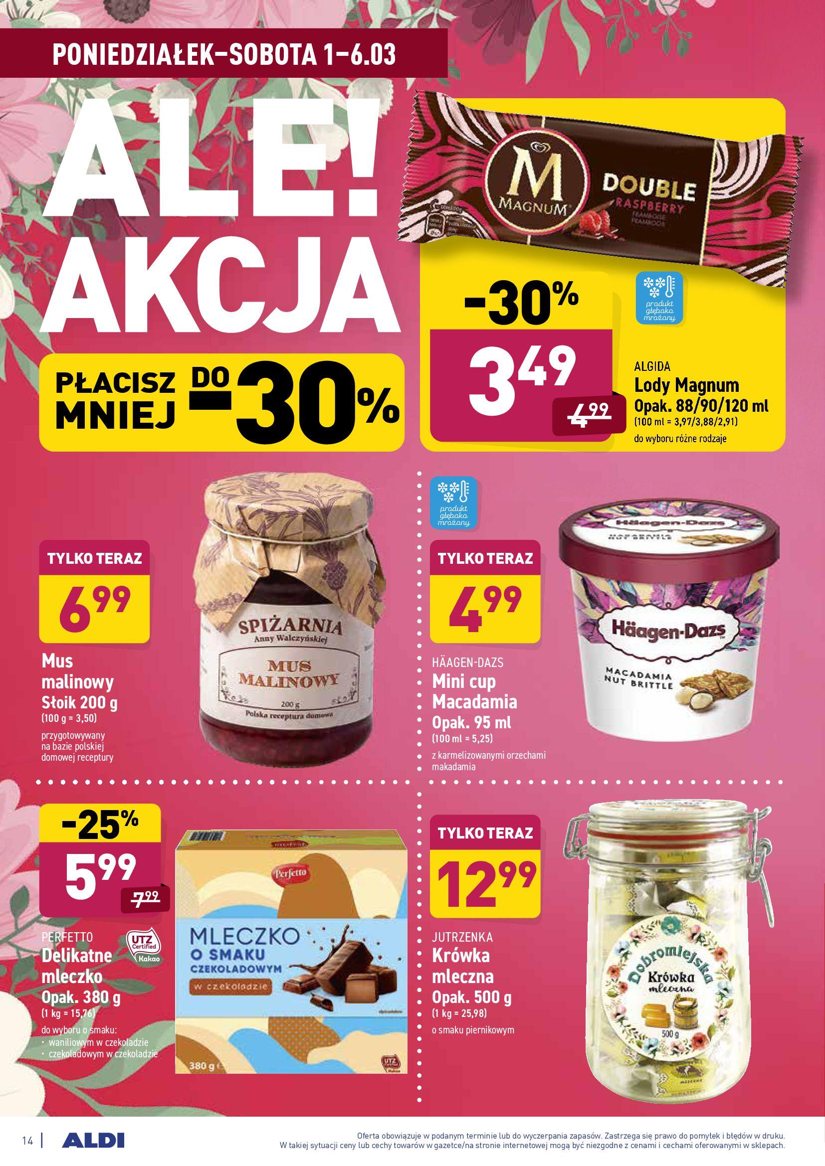 Gazetka Aldi: Gazetka promocyjna od 01.03 2021-03-01 page-14