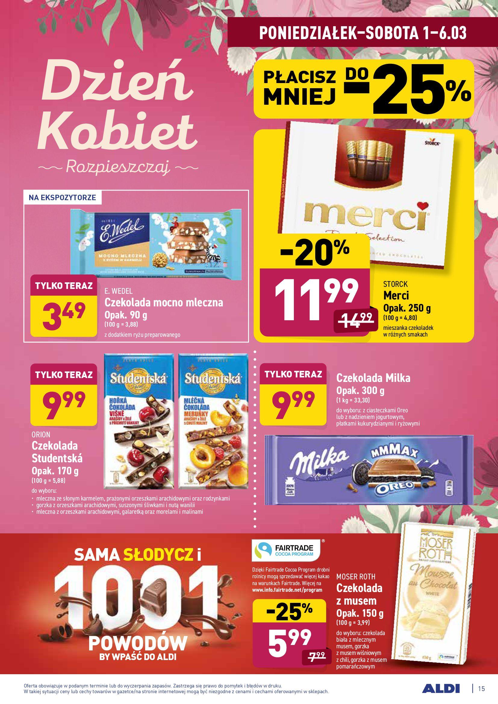 Gazetka Aldi: Gazetka promocyjna od 01.03 2021-03-01 page-15
