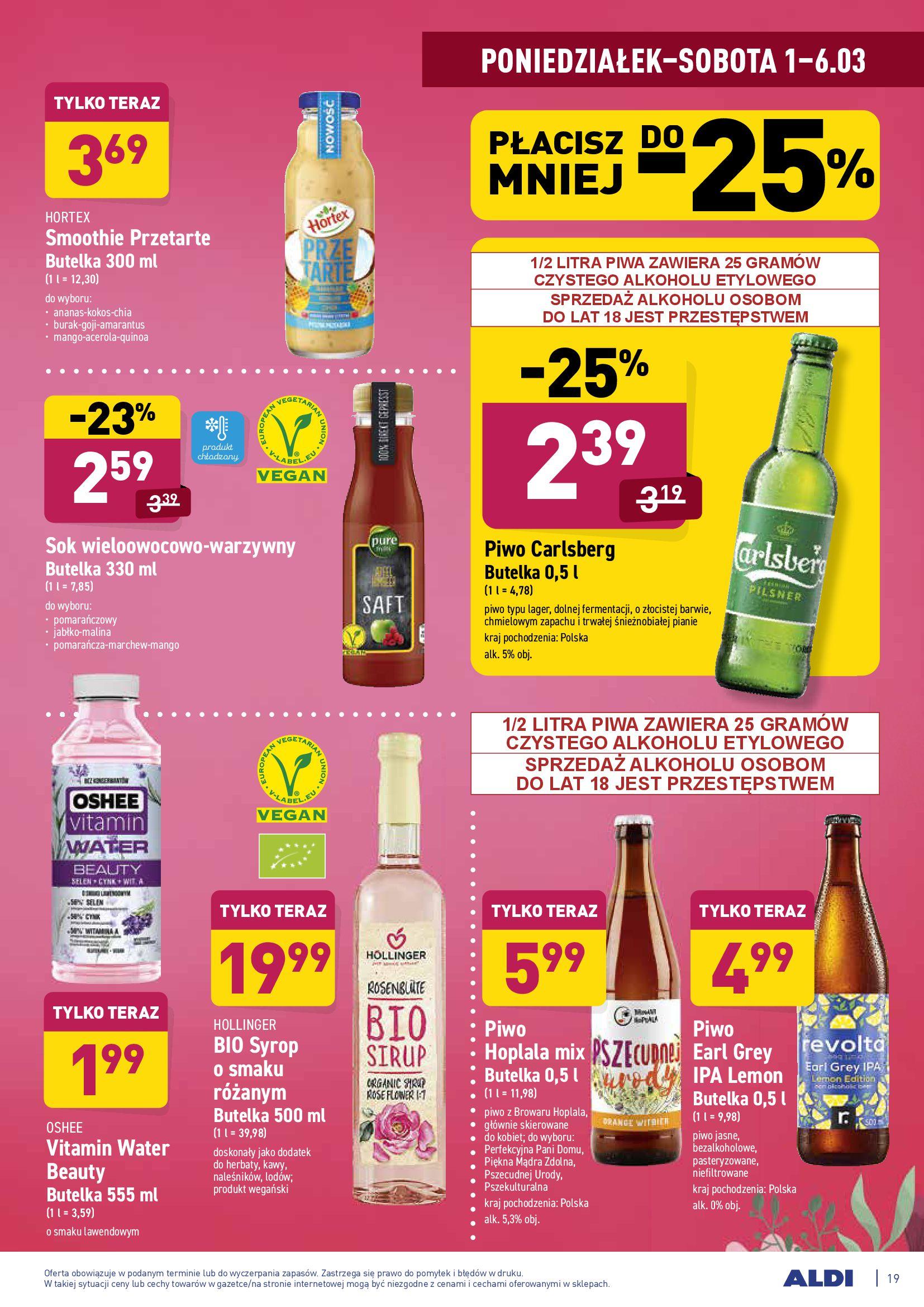 Gazetka Aldi: Gazetka promocyjna od 01.03 2021-03-01 page-19