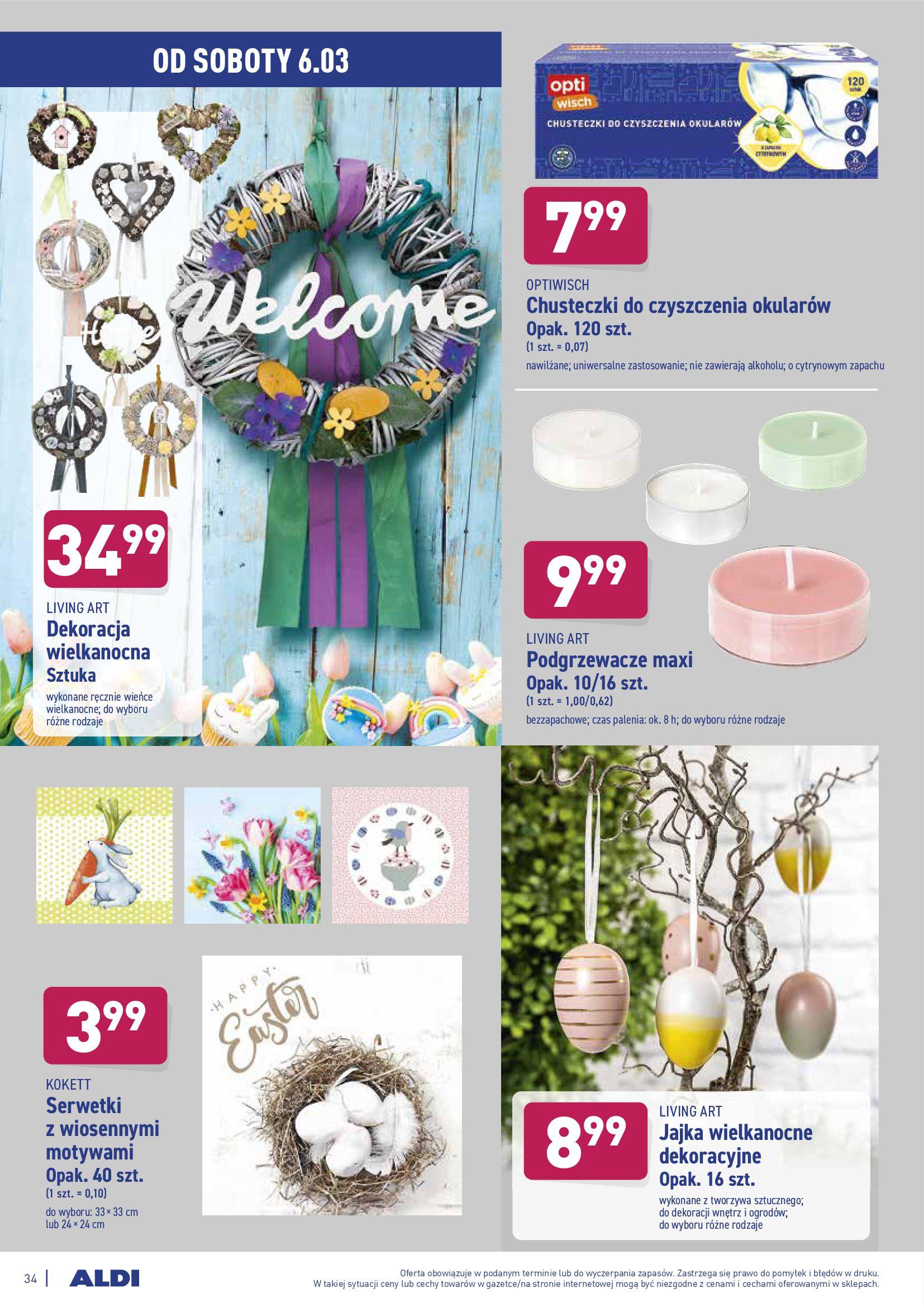 Gazetka Aldi: Gazetka promocyjna od 01.03 2021-03-01 page-34
