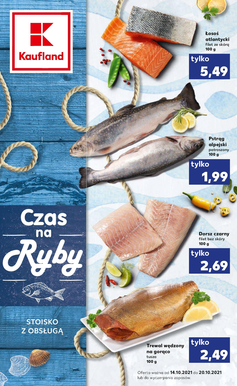 Gazetka Kaufland: Gazetka Kaufland - Czas na Ryby od 14.10. 2021-10-14 page-1