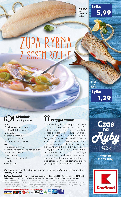 Gazetka Kaufland: Gazetka Kaufland - Czas na Ryby od 14.10. 2021-10-14 page-2
