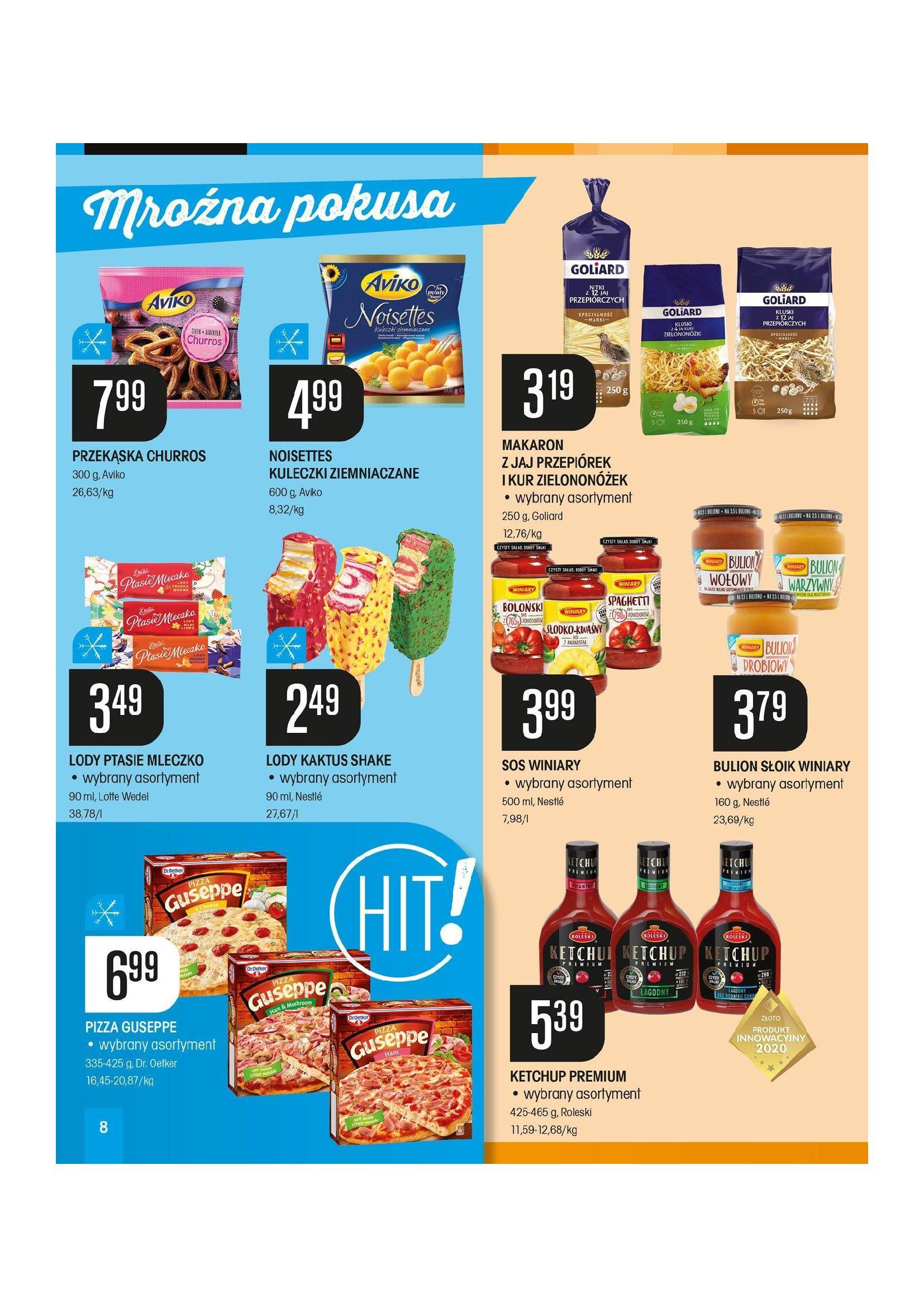 Gazetka Chata Polska: Gazetka promocyjna od 08.04 2021-04-08 page-8
