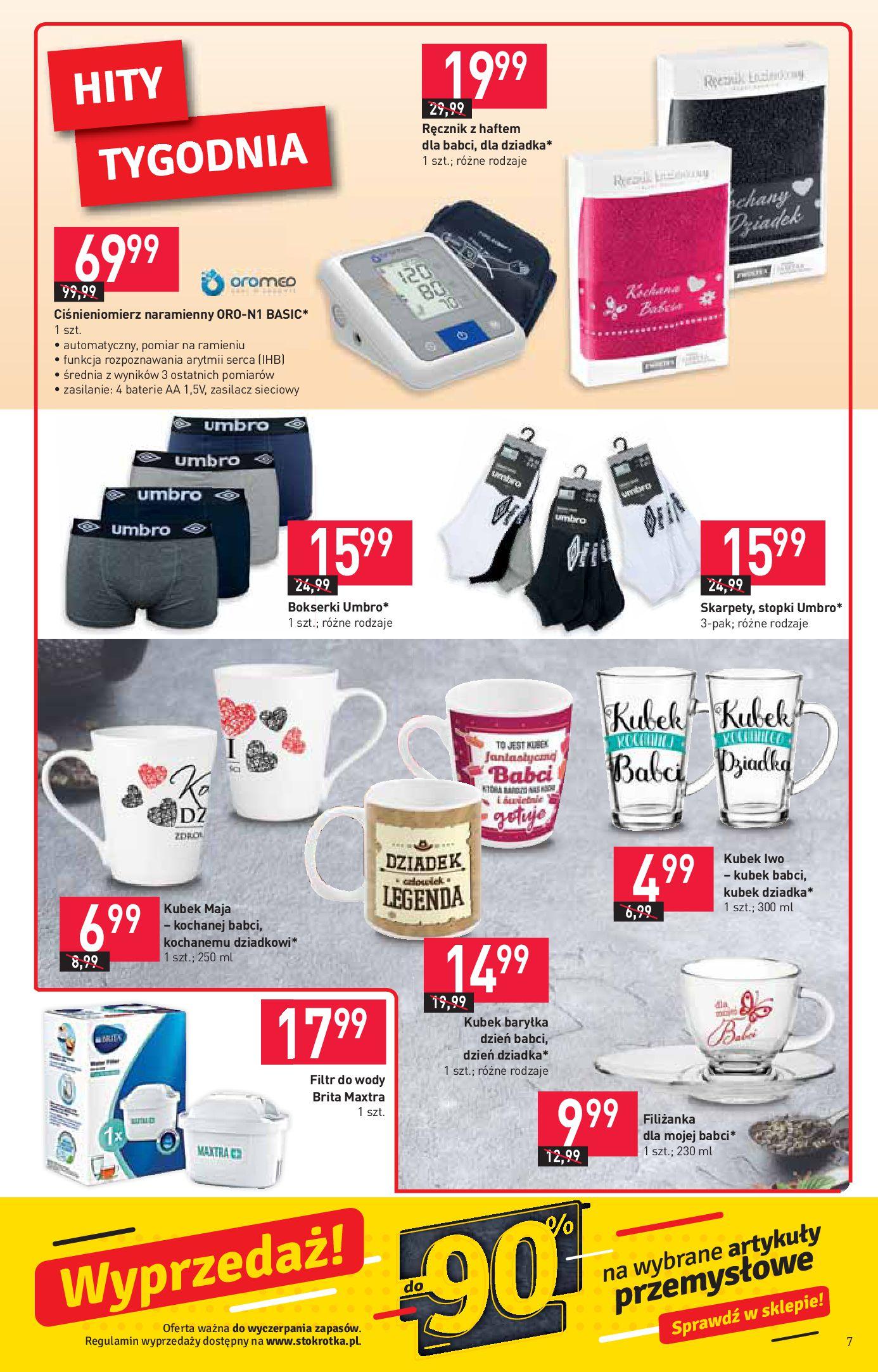 Gazetka Stokrotka Market: Oferta handlowa 2021-01-14 page-7