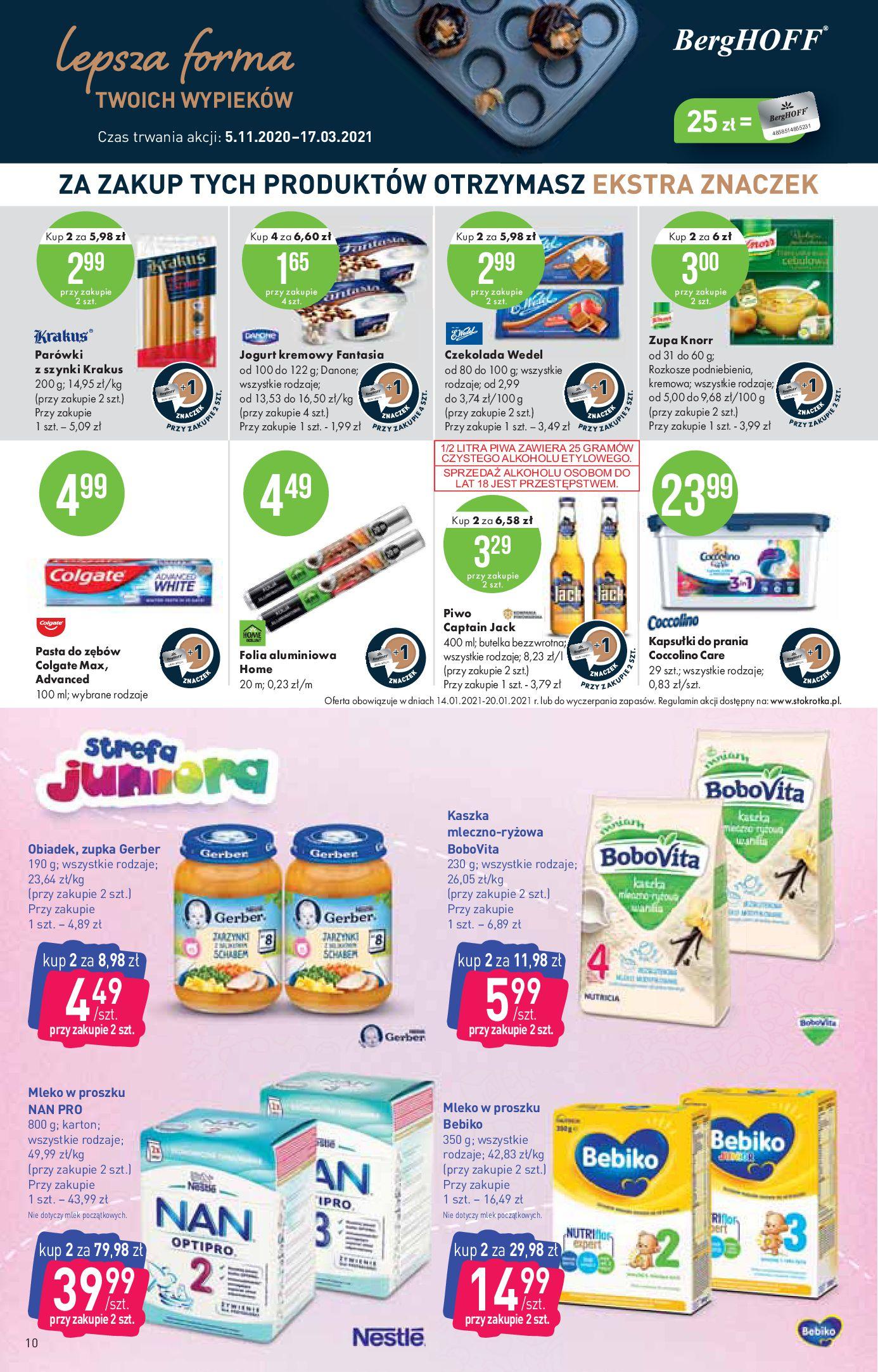 Gazetka Stokrotka Market: Oferta handlowa 2021-01-14 page-10