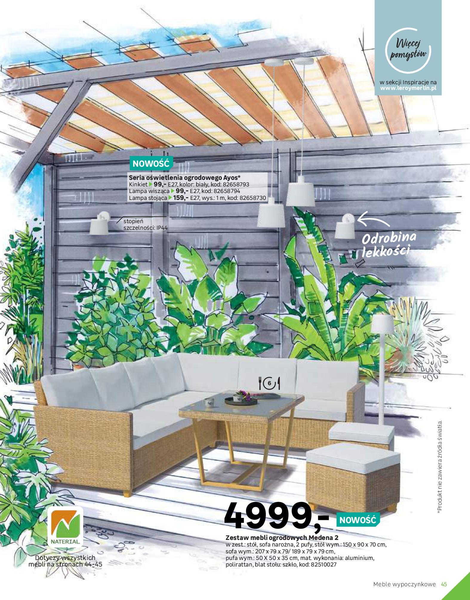Gazetka Leroy Merlin: Katalog Ogród 2021-03-10 page-45