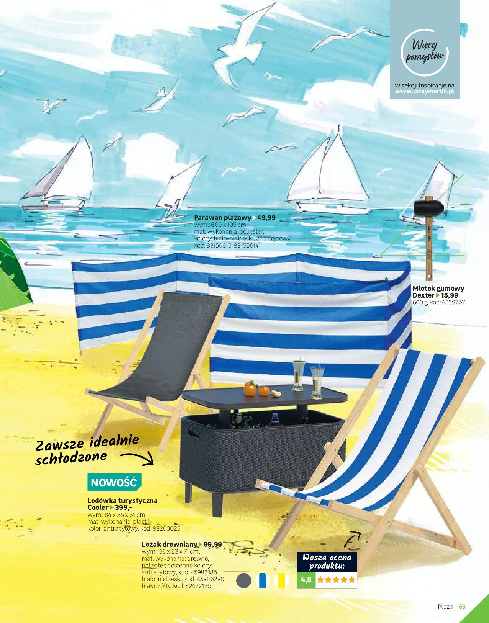 Gazetka Leroy Merlin: Katalog Ogród 2021-03-10 page-63
