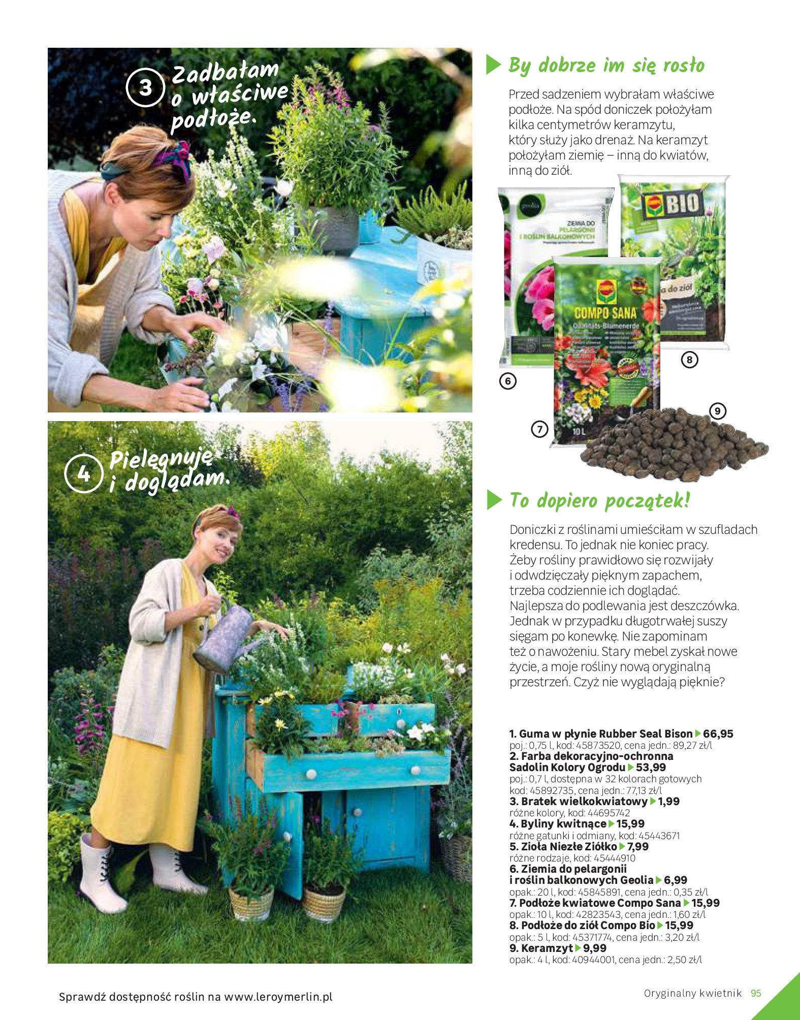 Gazetka Leroy Merlin: Katalog Ogród 2021-03-10 page-95
