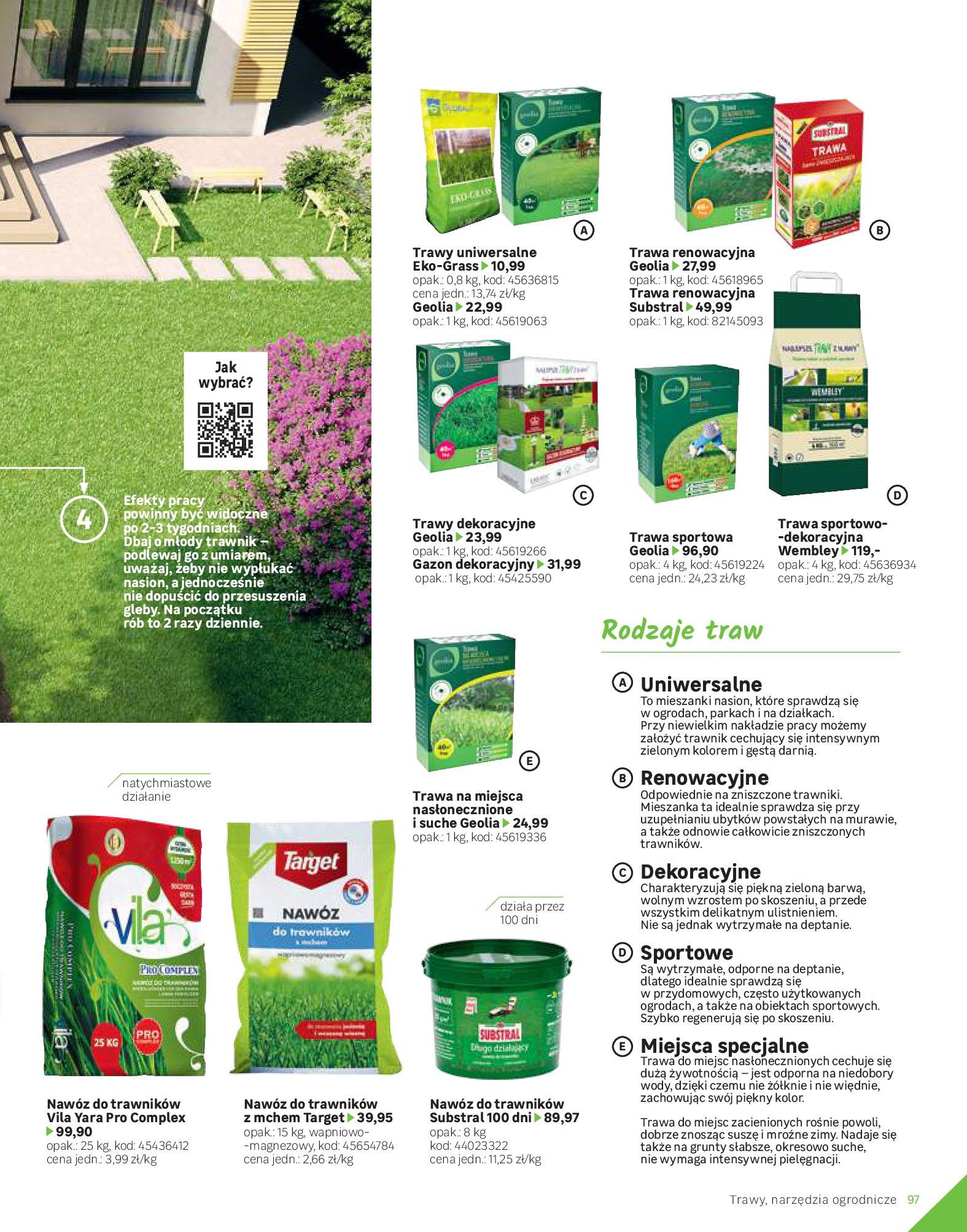 Gazetka Leroy Merlin: Katalog Ogród 2021-03-10 page-97