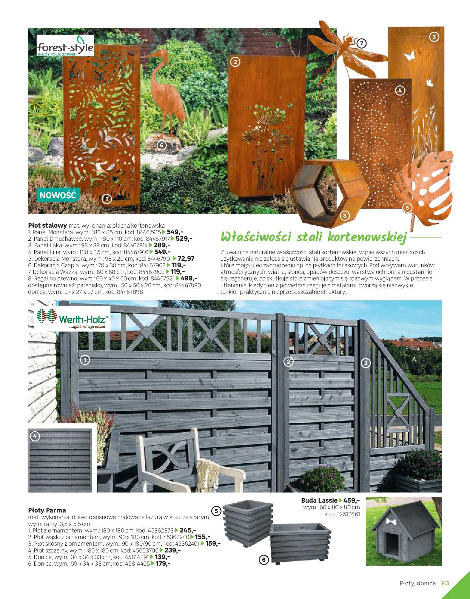 Gazetka Leroy Merlin: Katalog Ogród 2021-03-10 page-143