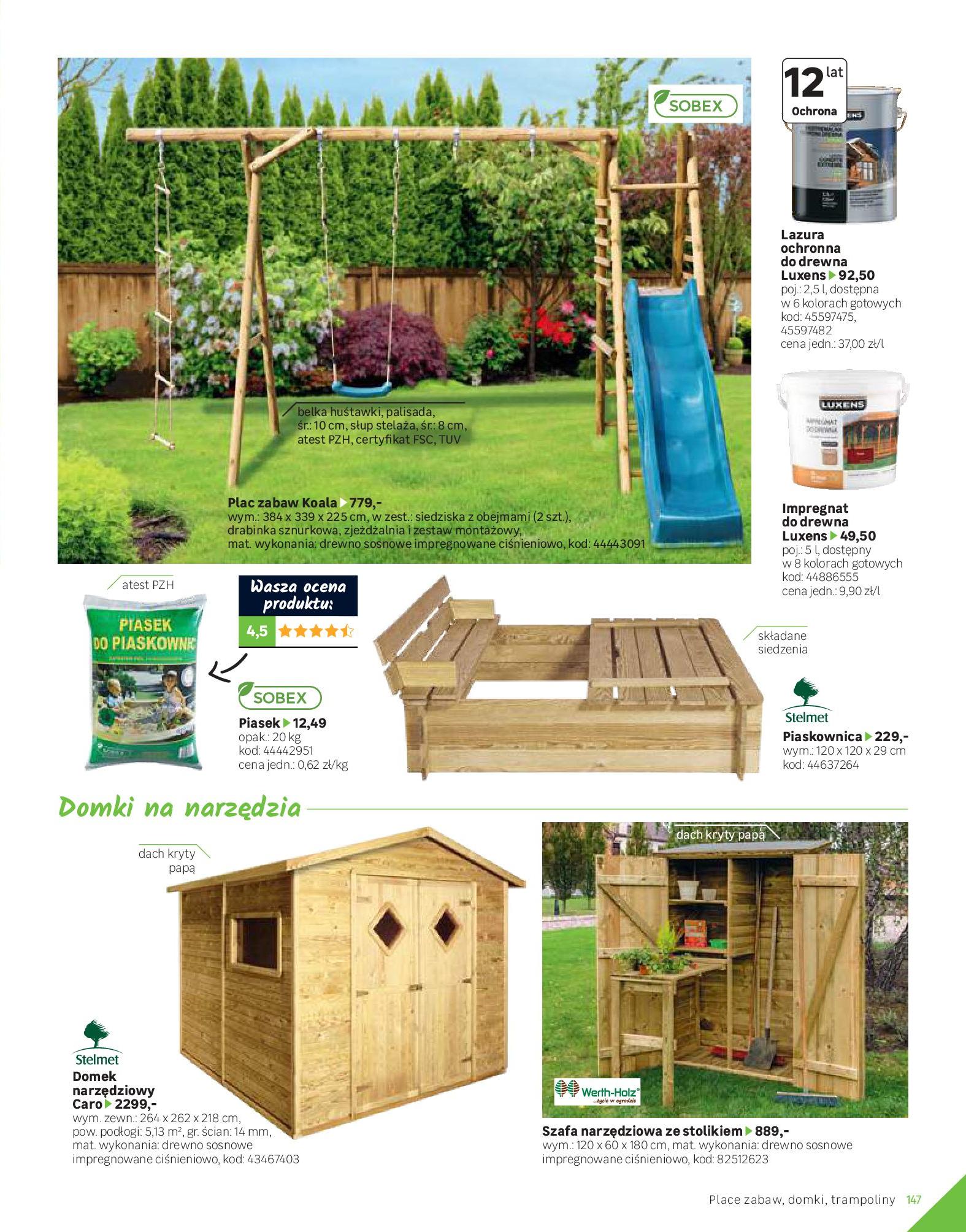 Gazetka Leroy Merlin: Katalog Ogród 2021-03-10 page-147