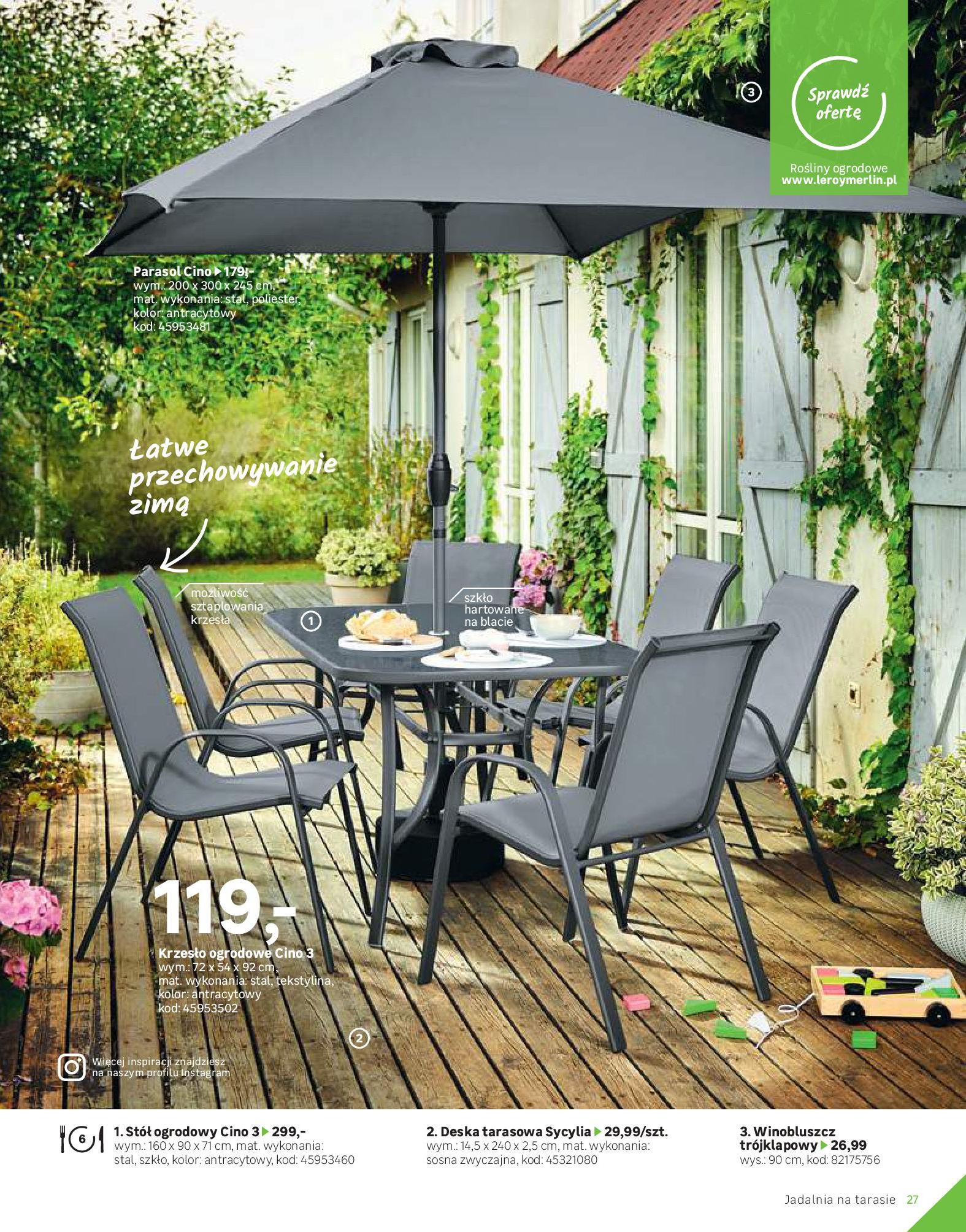 Gazetka Leroy Merlin: Katalog Ogród 2021-03-10 page-27