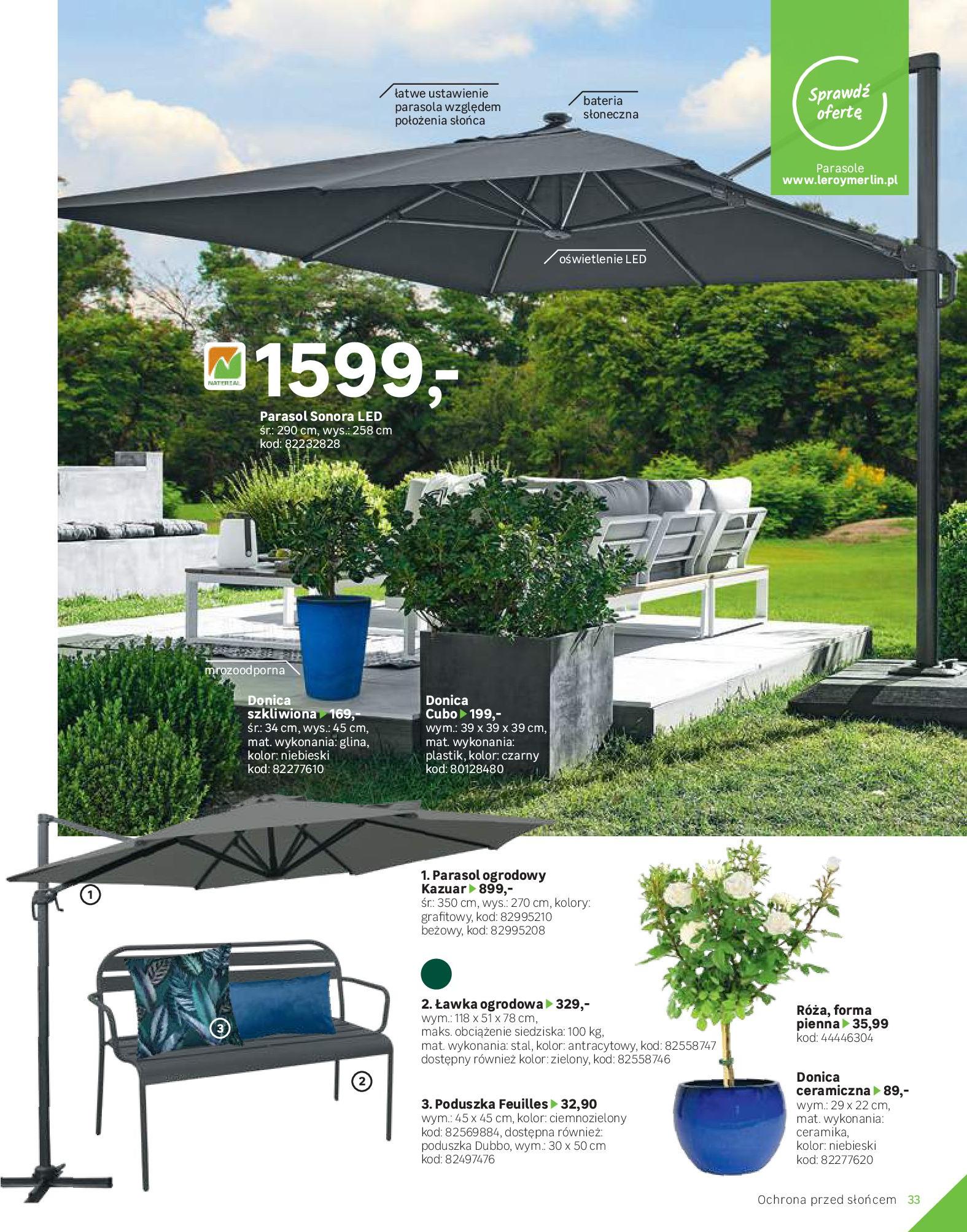 Gazetka Leroy Merlin: Katalog Ogród 2021-03-10 page-33