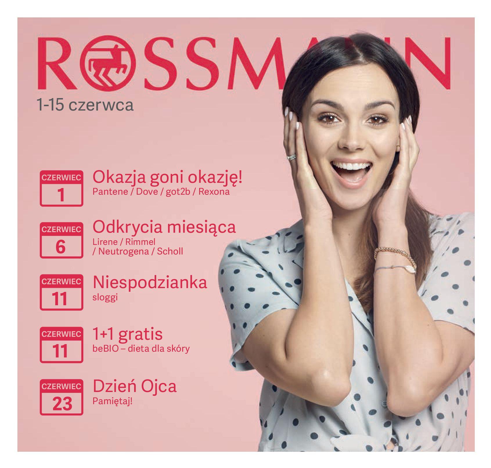 Gazetka Rossmann - Promocje w czerwcu-31.05.2019-15.06.2019-page-