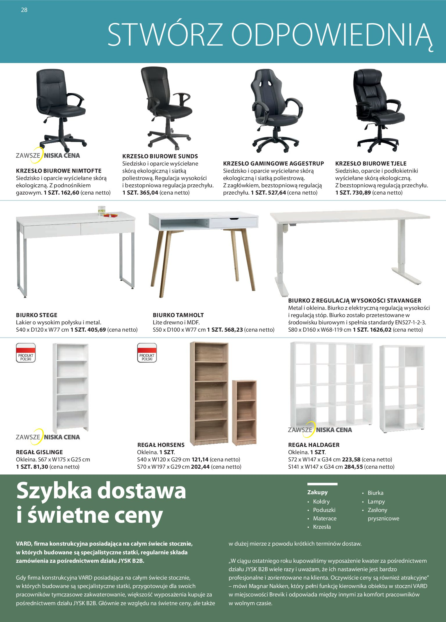 Gazetka Jysk - Business to business-11.03.2020-31.03.2020-page-28