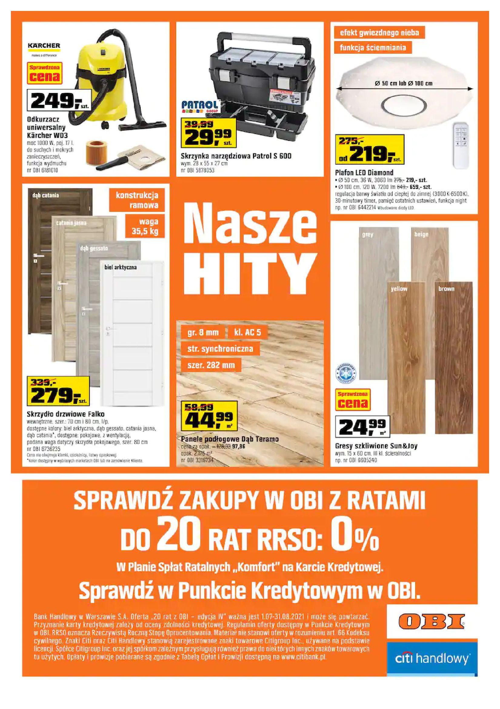 Gazetka OBI: Gazetka OBI - Kuchnia 2021-07-21 page-16