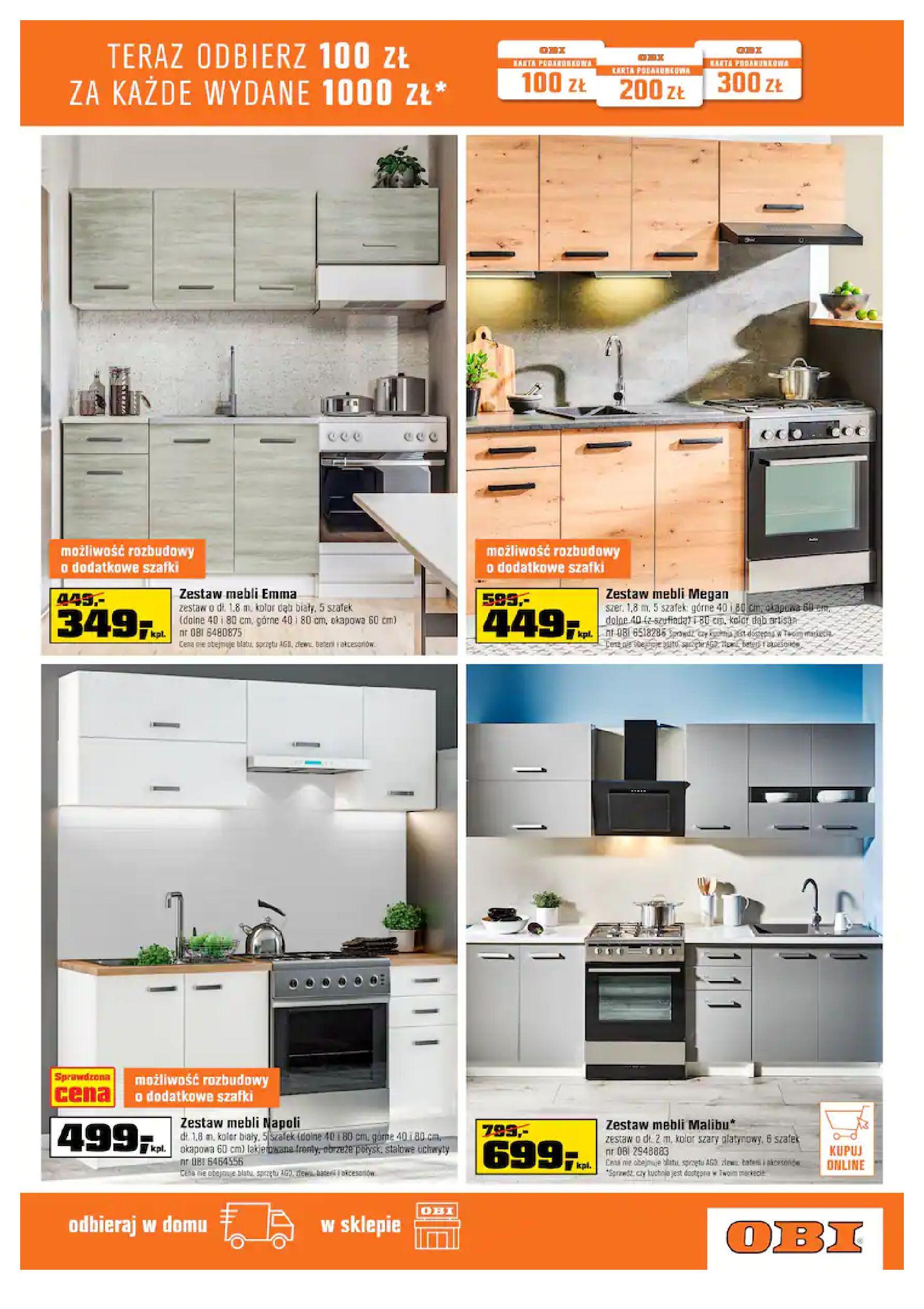Gazetka OBI: Gazetka OBI - Kuchnia 2021-07-21 page-3