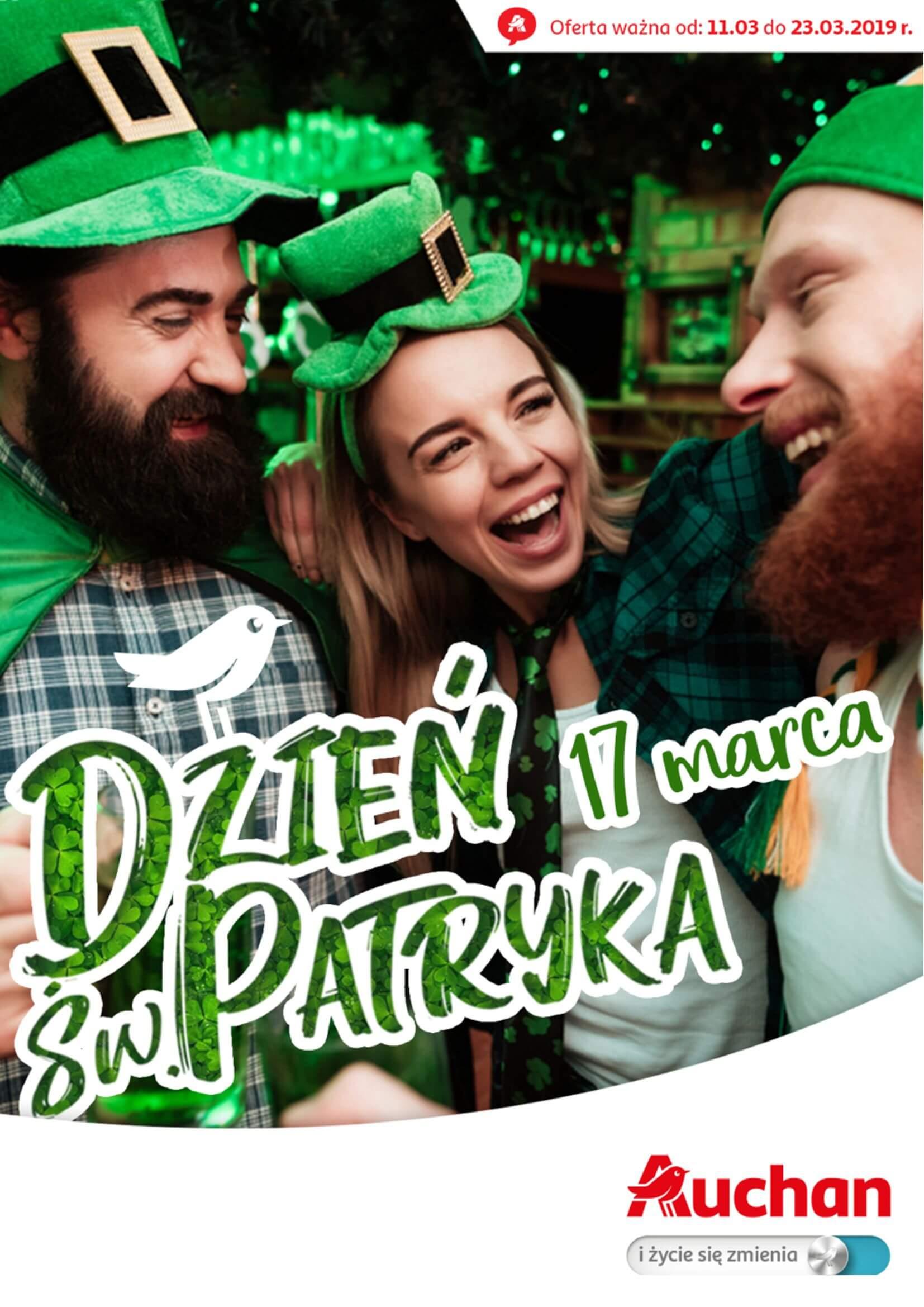 Gazetka Auchan - Dzień św. Patryka Hipermarkety-10.03.2019-23.03.2019-page-