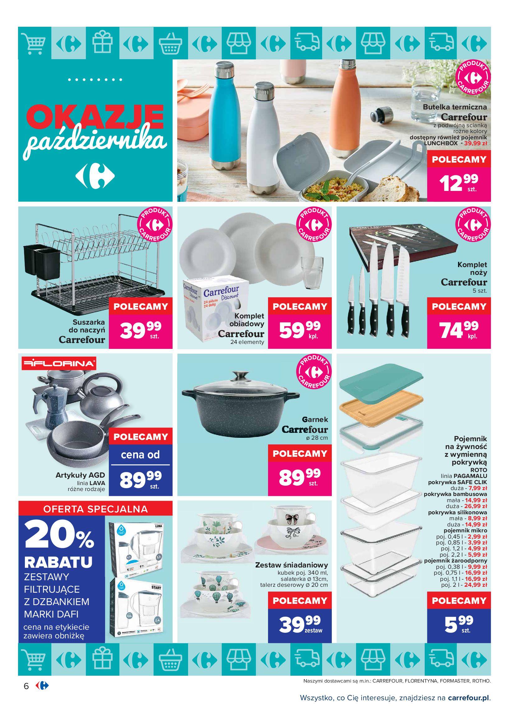 Gazetka Carrefour: Gazetka Carrefour - Okazje Października 2021-10-01 page-6
