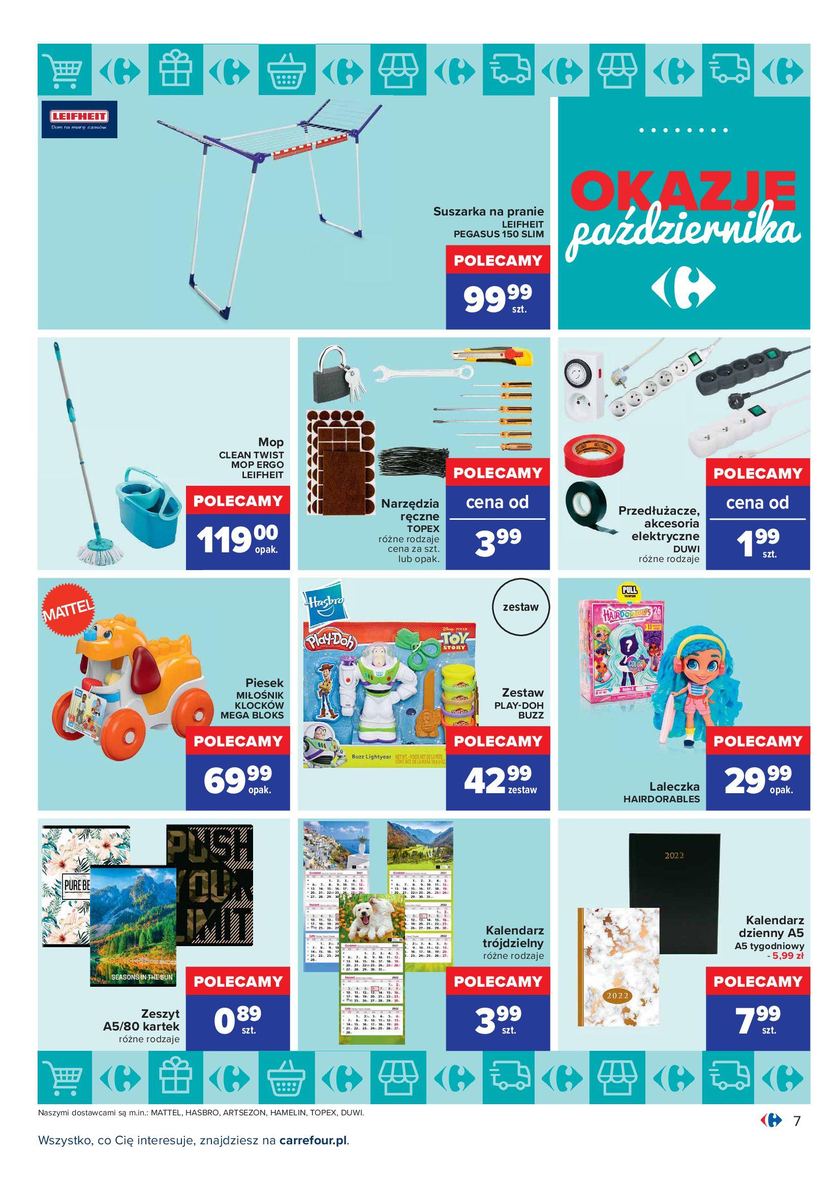 Gazetka Carrefour: Gazetka Carrefour - Okazje Października 2021-10-01 page-7