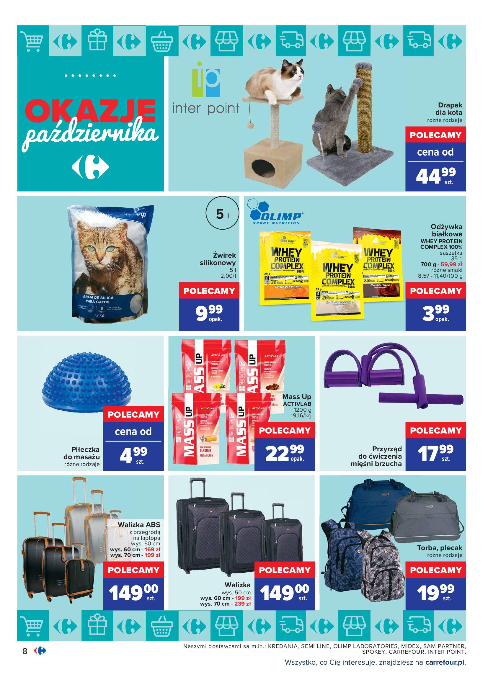 Gazetka Carrefour: Gazetka Carrefour - Okazje Października 2021-10-01 page-8