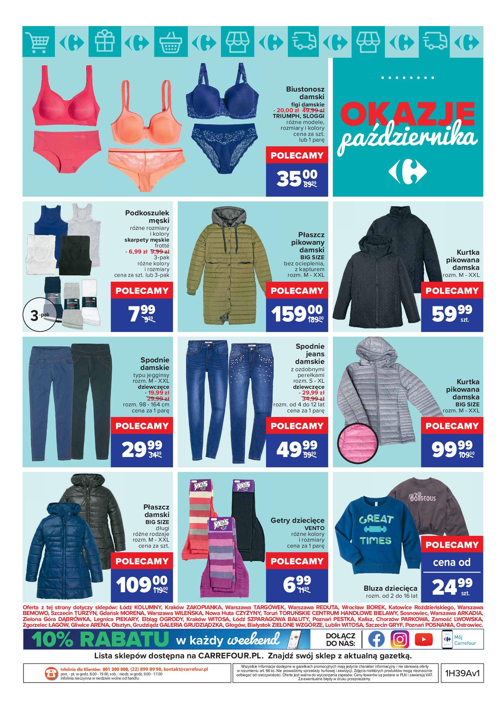 Gazetka Carrefour: Gazetka Carrefour - Okazje Października 2021-10-01 page-9