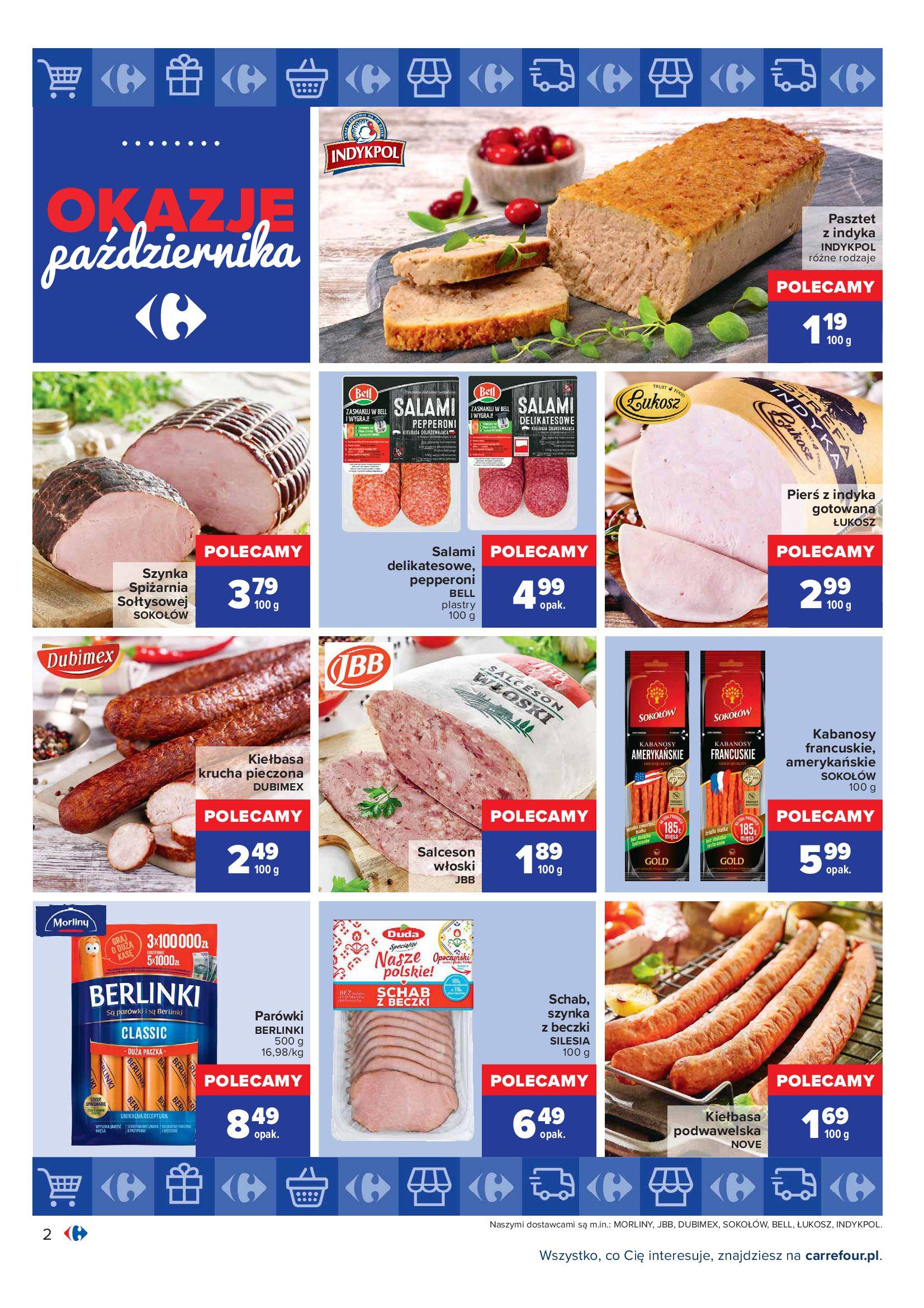 Gazetka Carrefour: Gazetka Carrefour - Okazje Października 2021-10-01 page-2