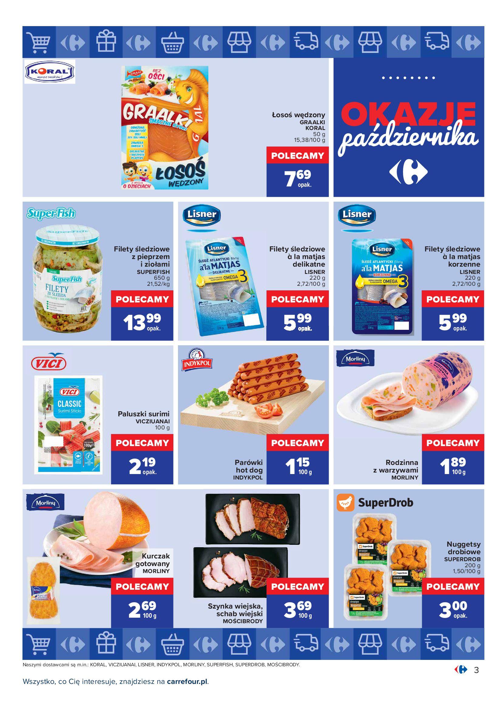 Gazetka Carrefour: Gazetka Carrefour - Okazje Października 2021-10-01 page-3