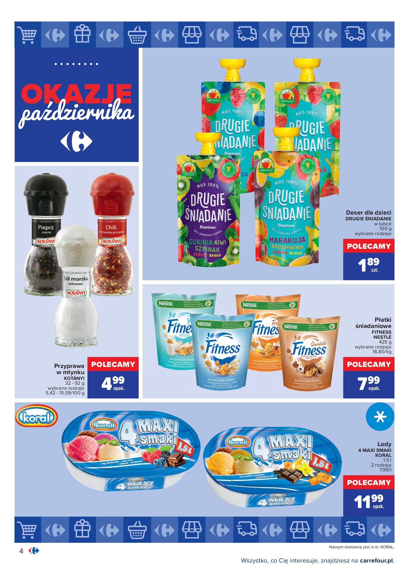 Gazetka Carrefour: Gazetka Carrefour - Okazje Października 2021-10-01 page-4