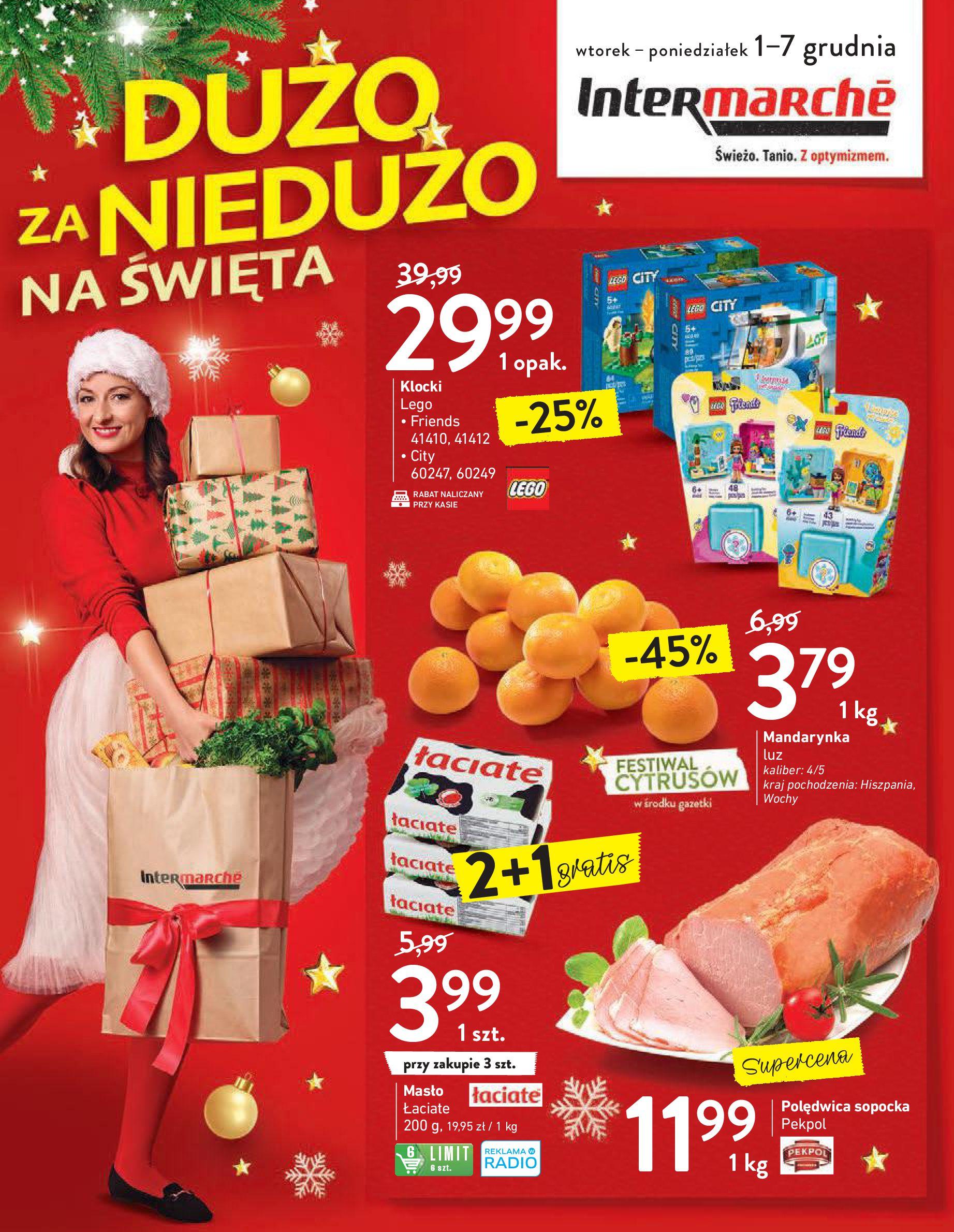Intermarché:  Gazetka promocyjna od 01.12 30.11.2020