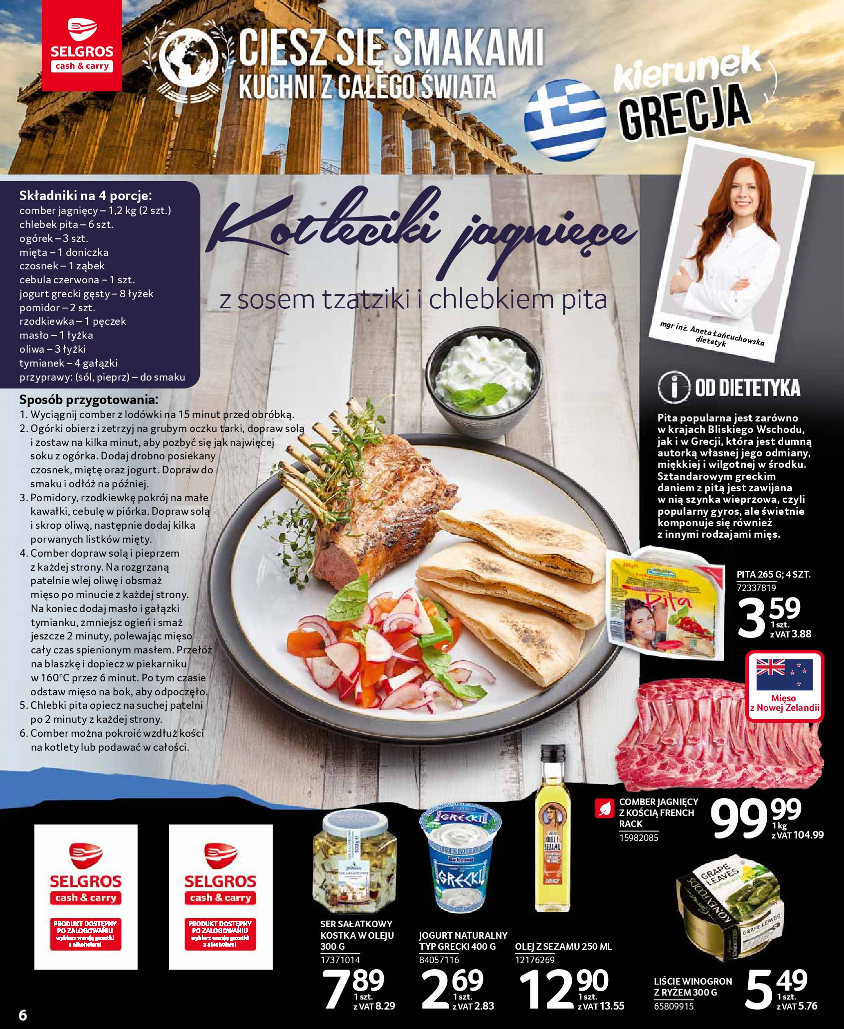 Gazetka Selgros - Oferta spożywcza-13.08.2019-28.08.2019-page-6