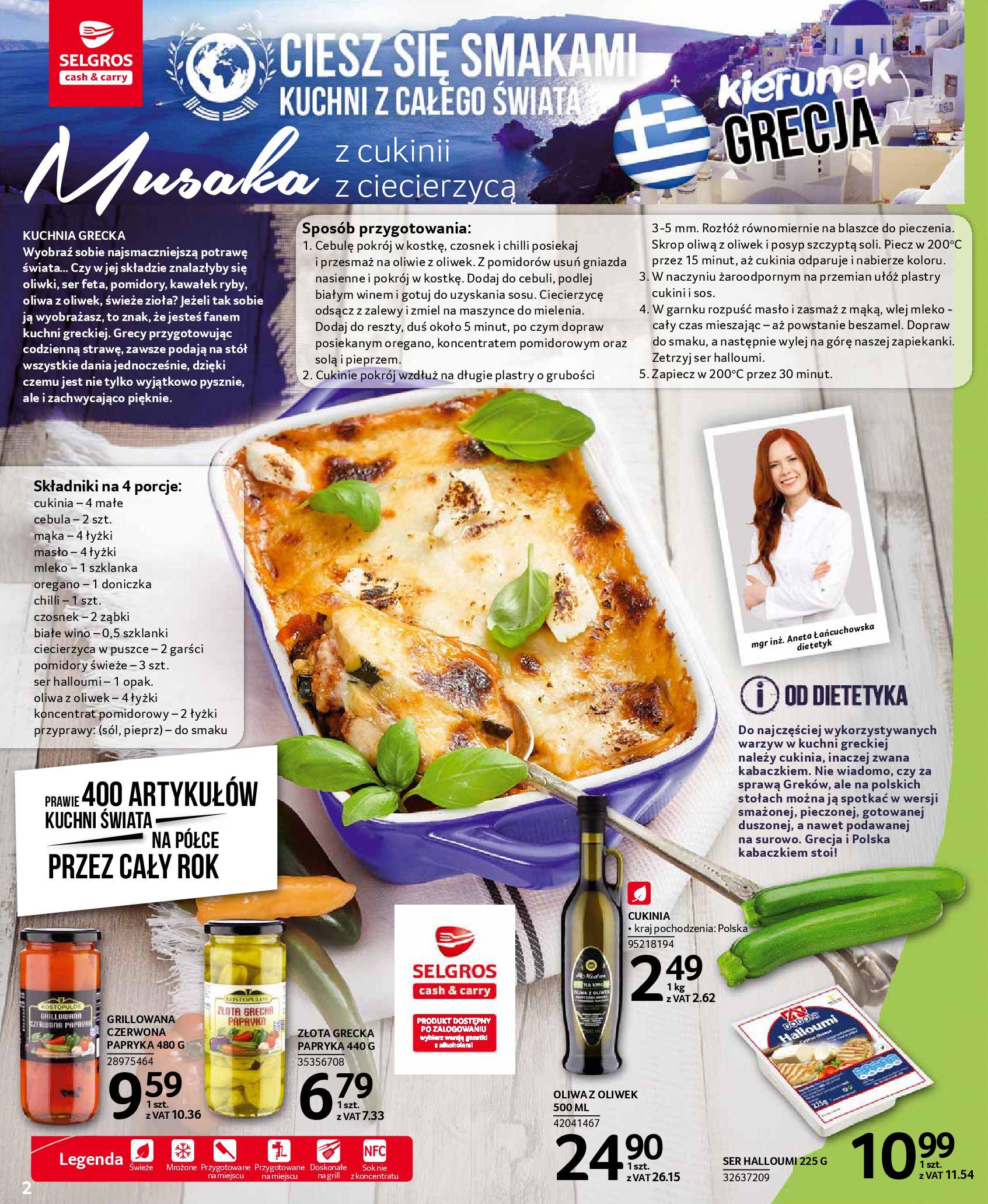 Gazetka Selgros - Oferta spożywcza-13.08.2019-28.08.2019-page-2