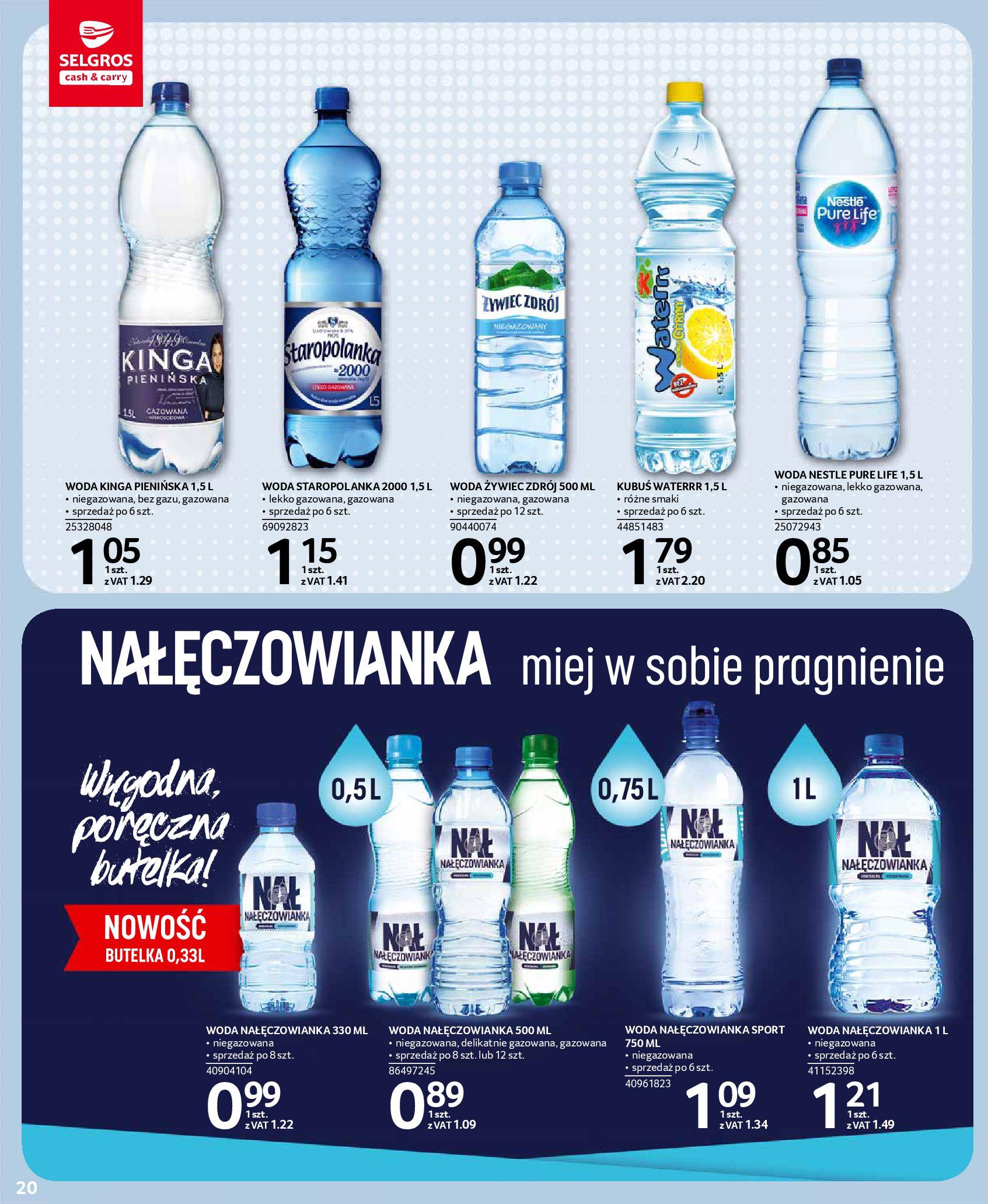 Gazetka Selgros - Oferta spożywcza-13.08.2019-28.08.2019-page-20