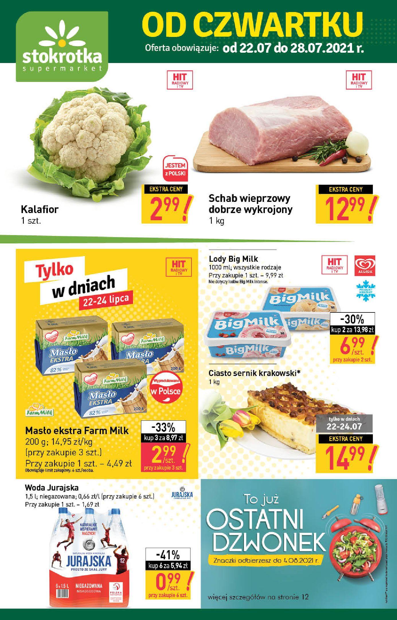 Gazetka Stokrotka Supermarket: Stokrotka Supermarket_IMPORTED_20210720130049 2021-07-22 page-1