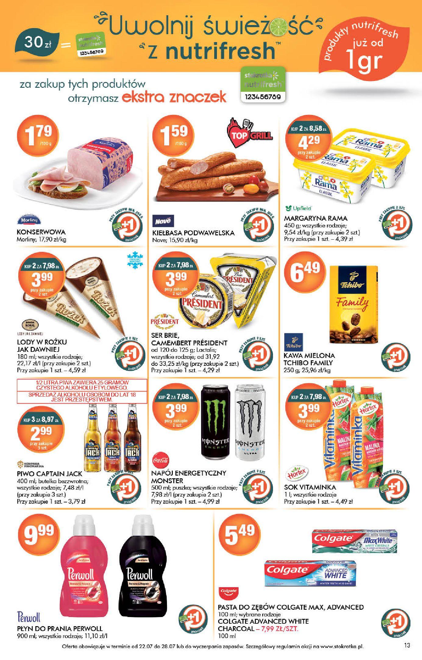 Gazetka Stokrotka Supermarket: Stokrotka Supermarket_IMPORTED_20210720130049 2021-07-22 page-13