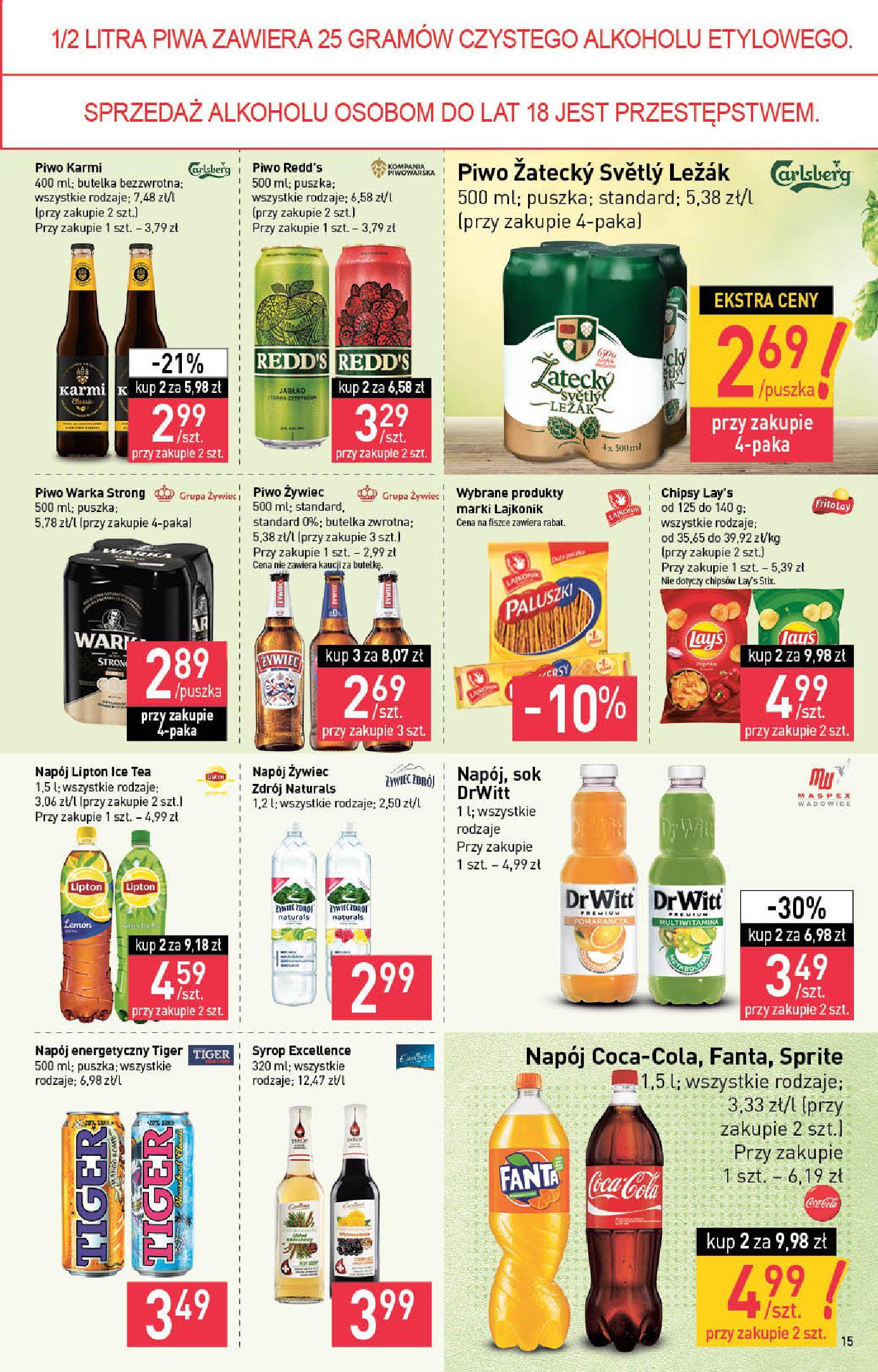 Gazetka Stokrotka Supermarket: Stokrotka Supermarket_IMPORTED_20210720130049 2021-07-22 page-15