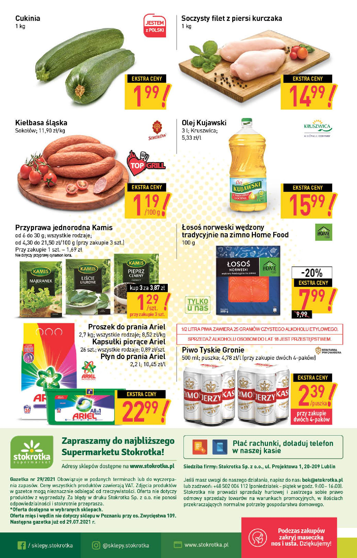 Gazetka Stokrotka Supermarket: Stokrotka Supermarket_IMPORTED_20210720130049 2021-07-22 page-20
