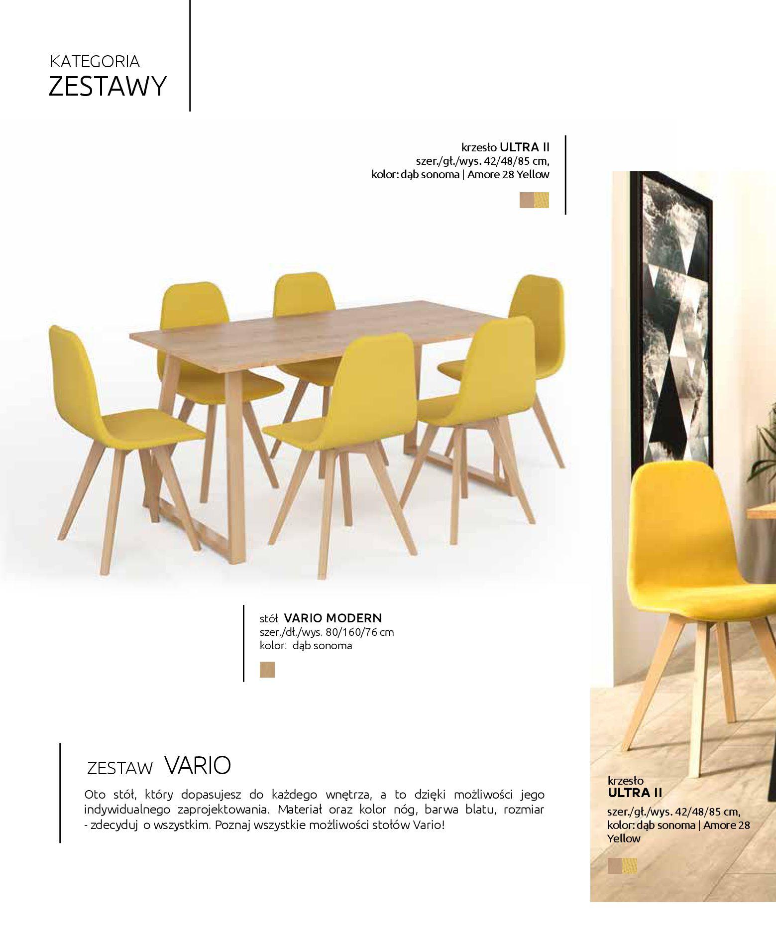 Gazetka Black Red White: Katalog - Stoły i krzesła 2019-05-01 page-6
